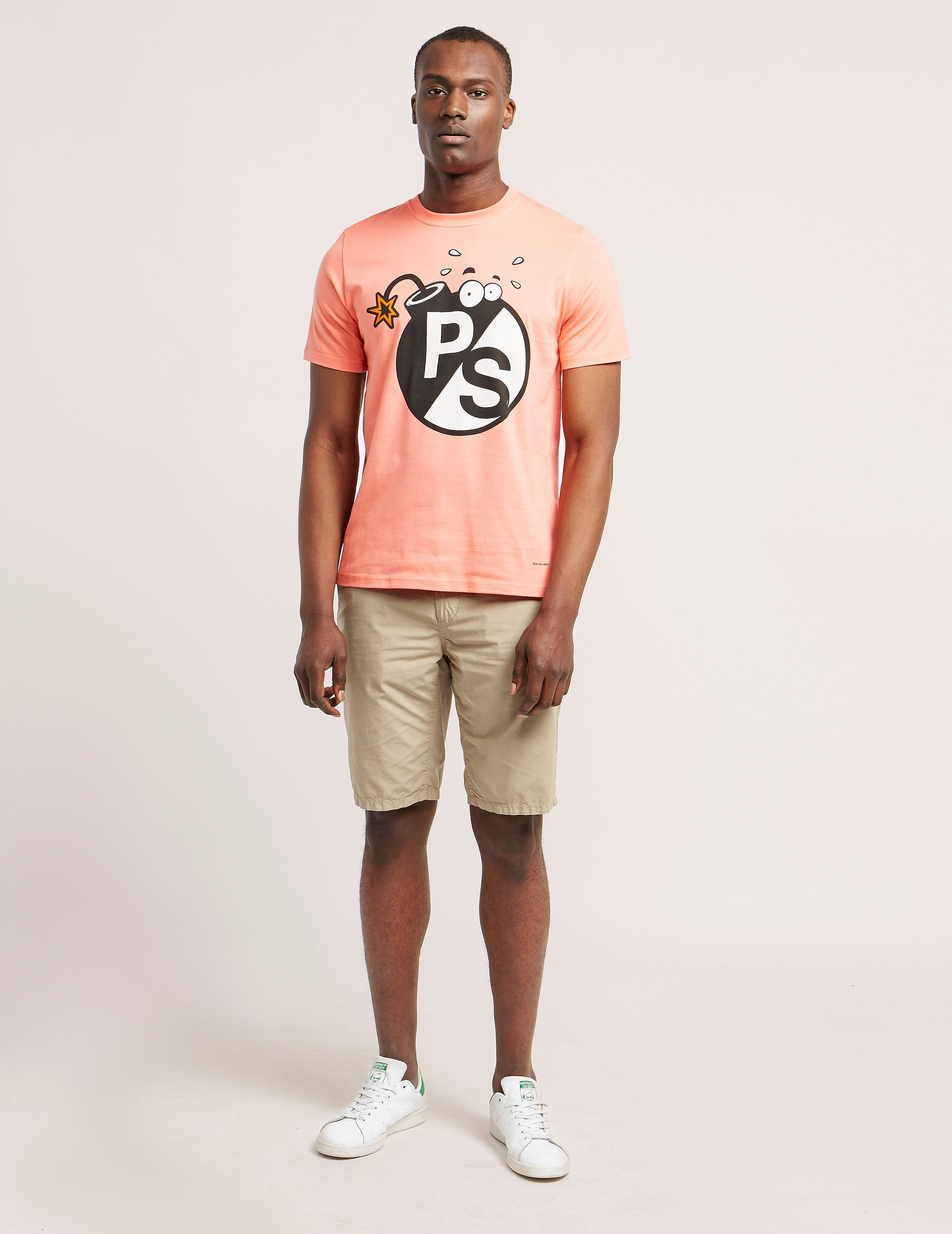 Paul Smith Short Sleeve Bomb Print T-Shirt