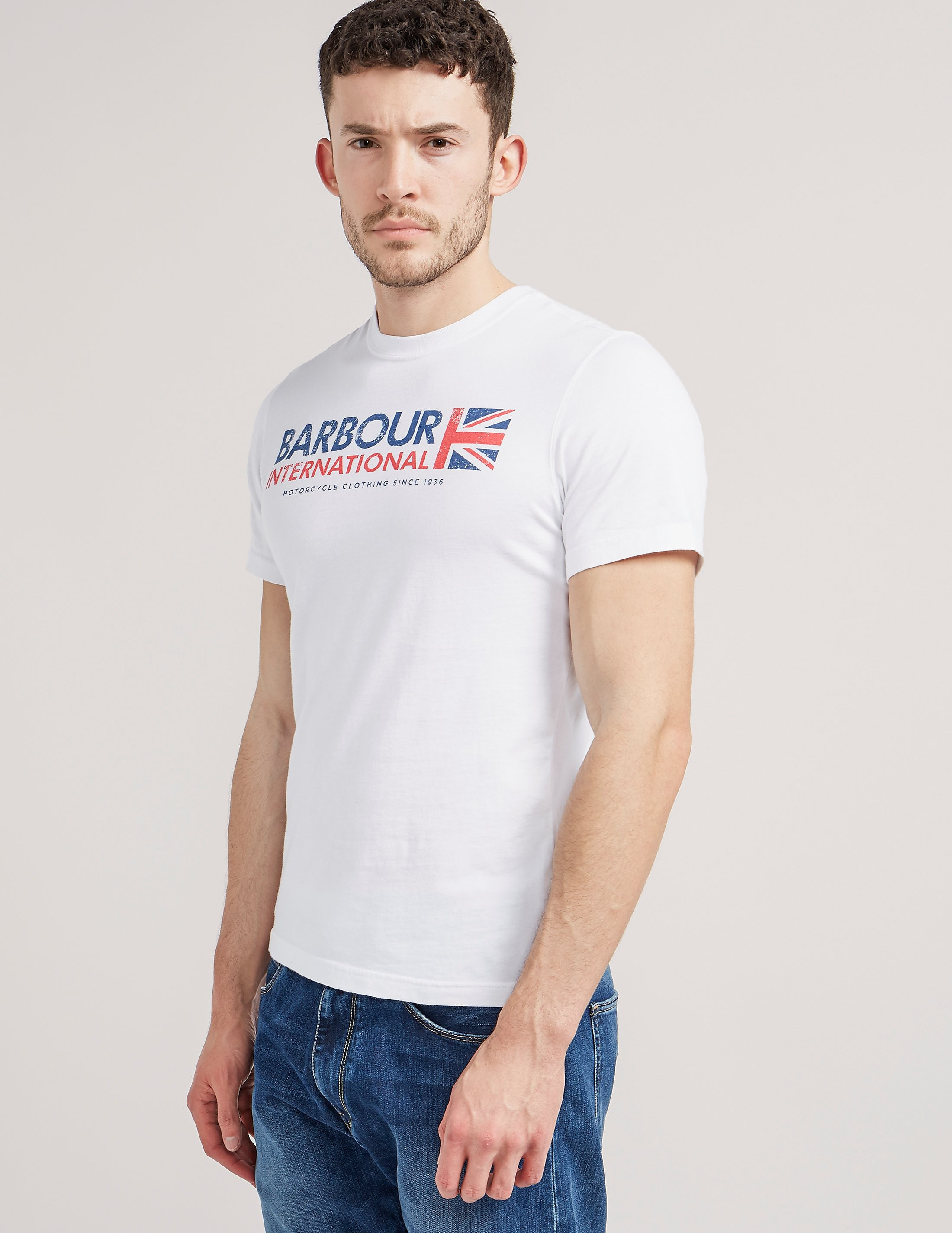 Barbour International Flag T-Shirt