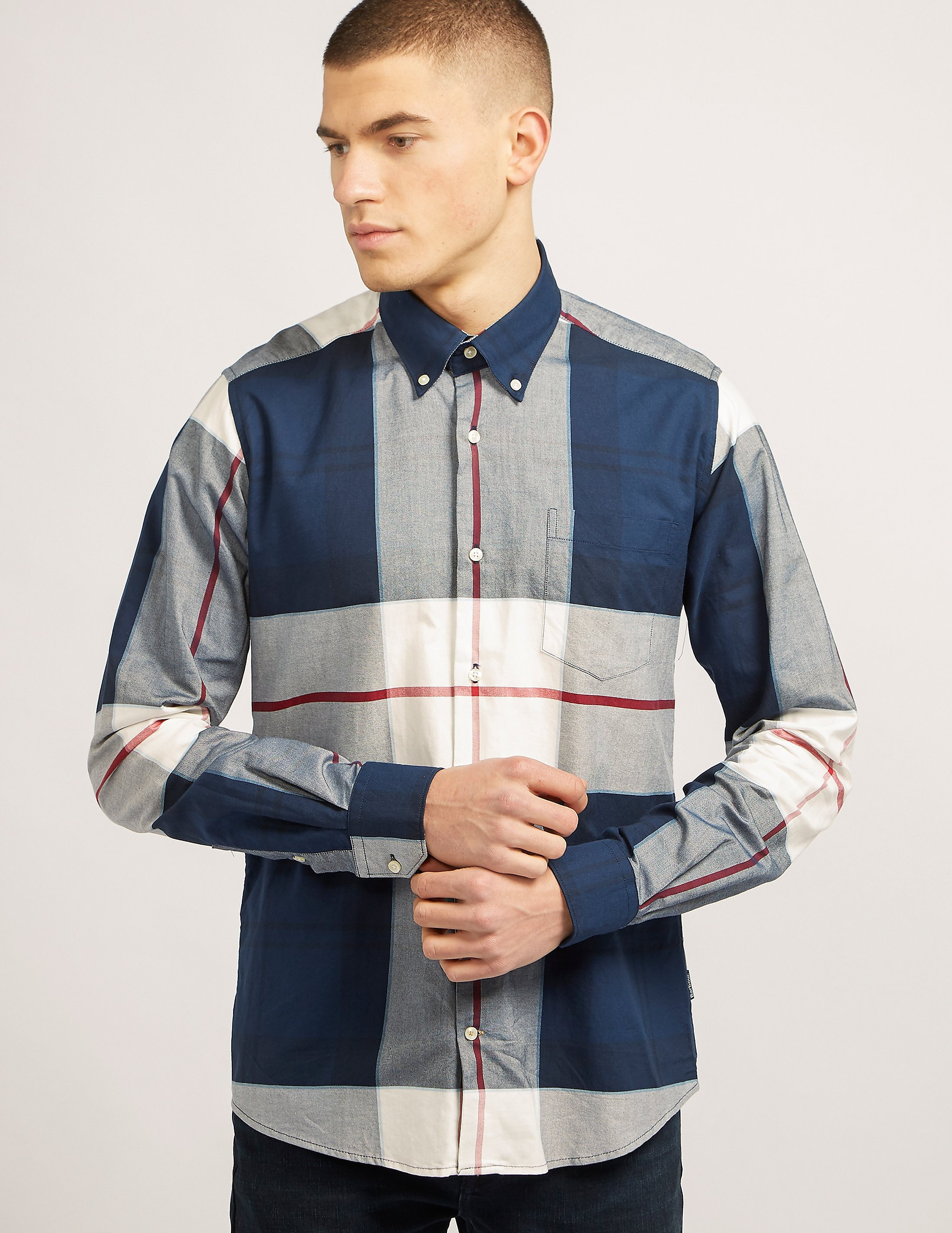 Barbour Kelso Oversized Check Shirt