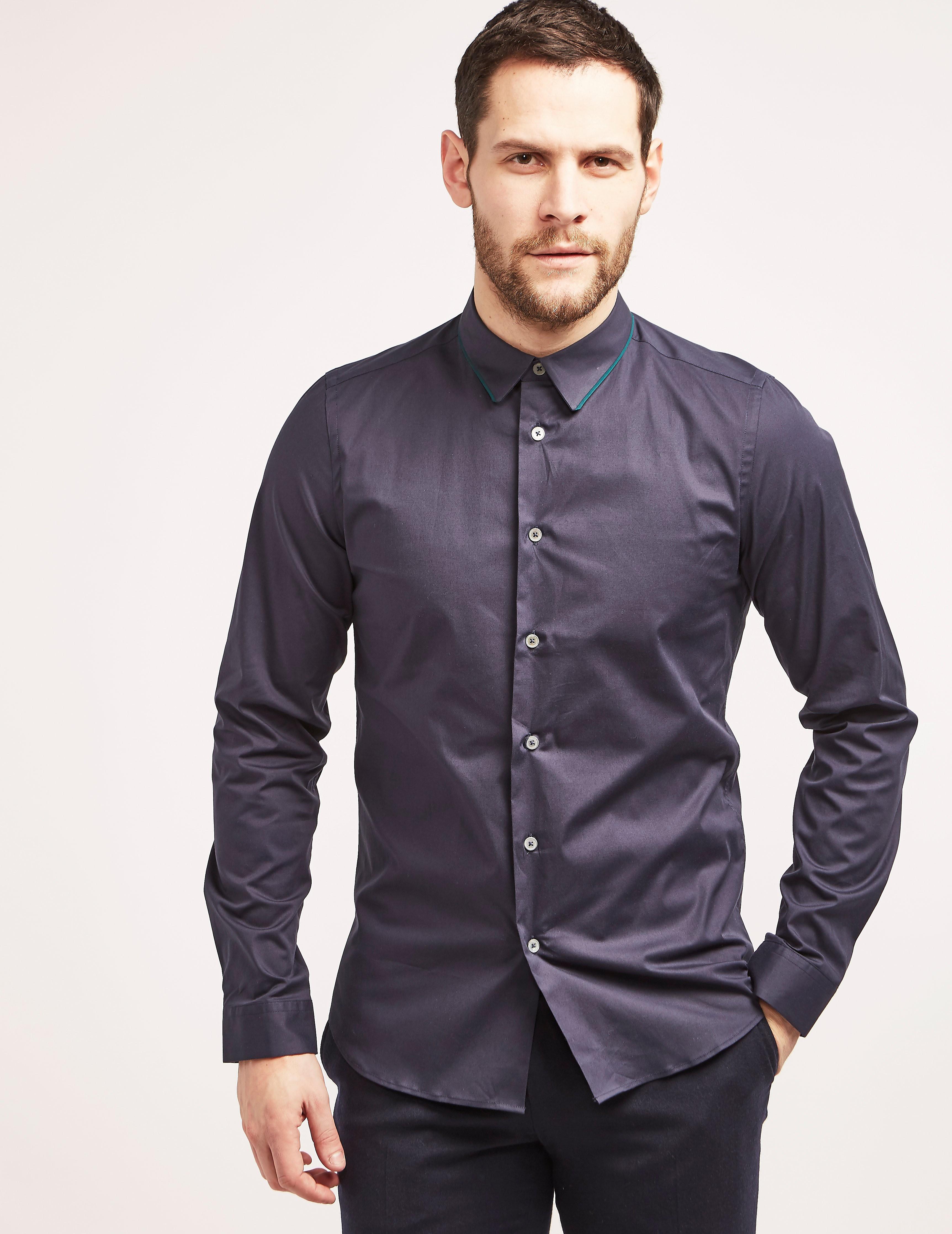 Paul Smith Tipped Collar Shirt