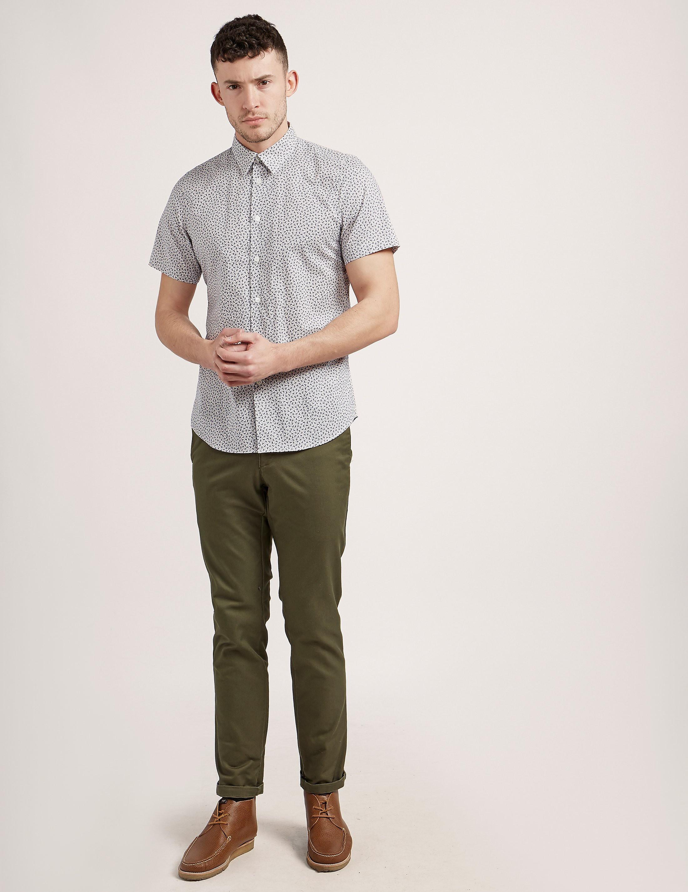 Paul Smith Monkey Print Short Sleeve T-Shirt