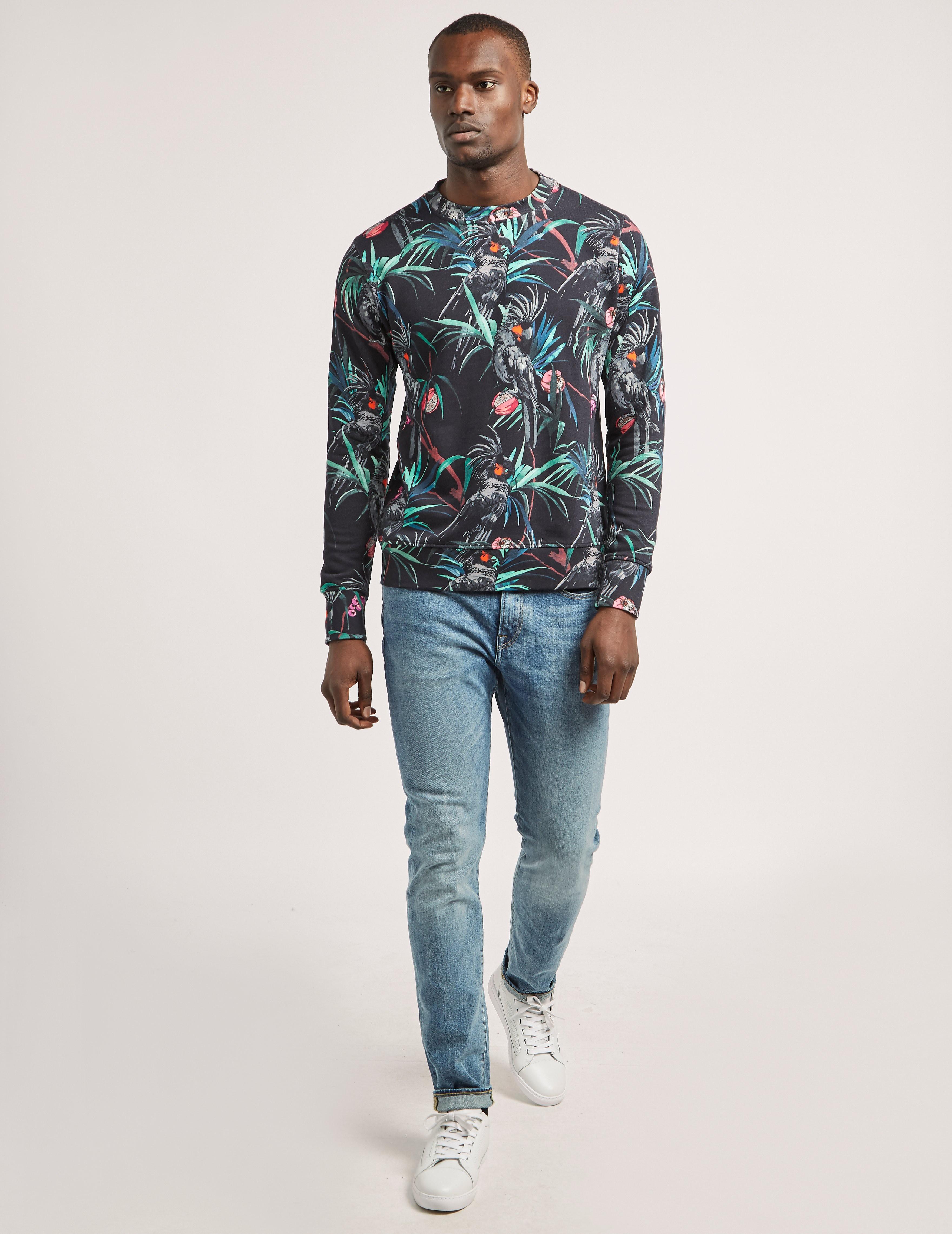 Paul Smith Cockatoo Print Sweatshirt