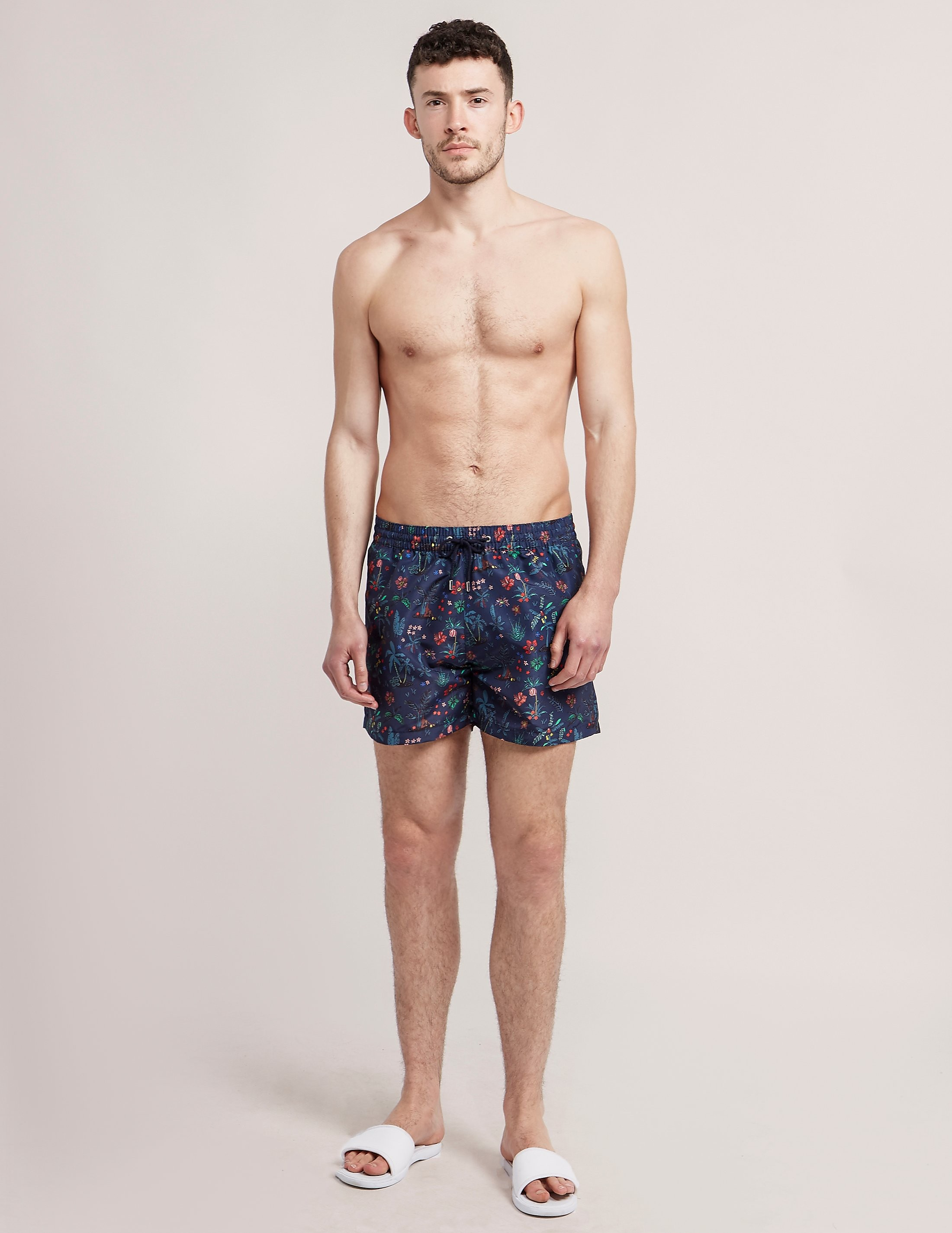 Paul Smith Botanical Print Swim Shorts