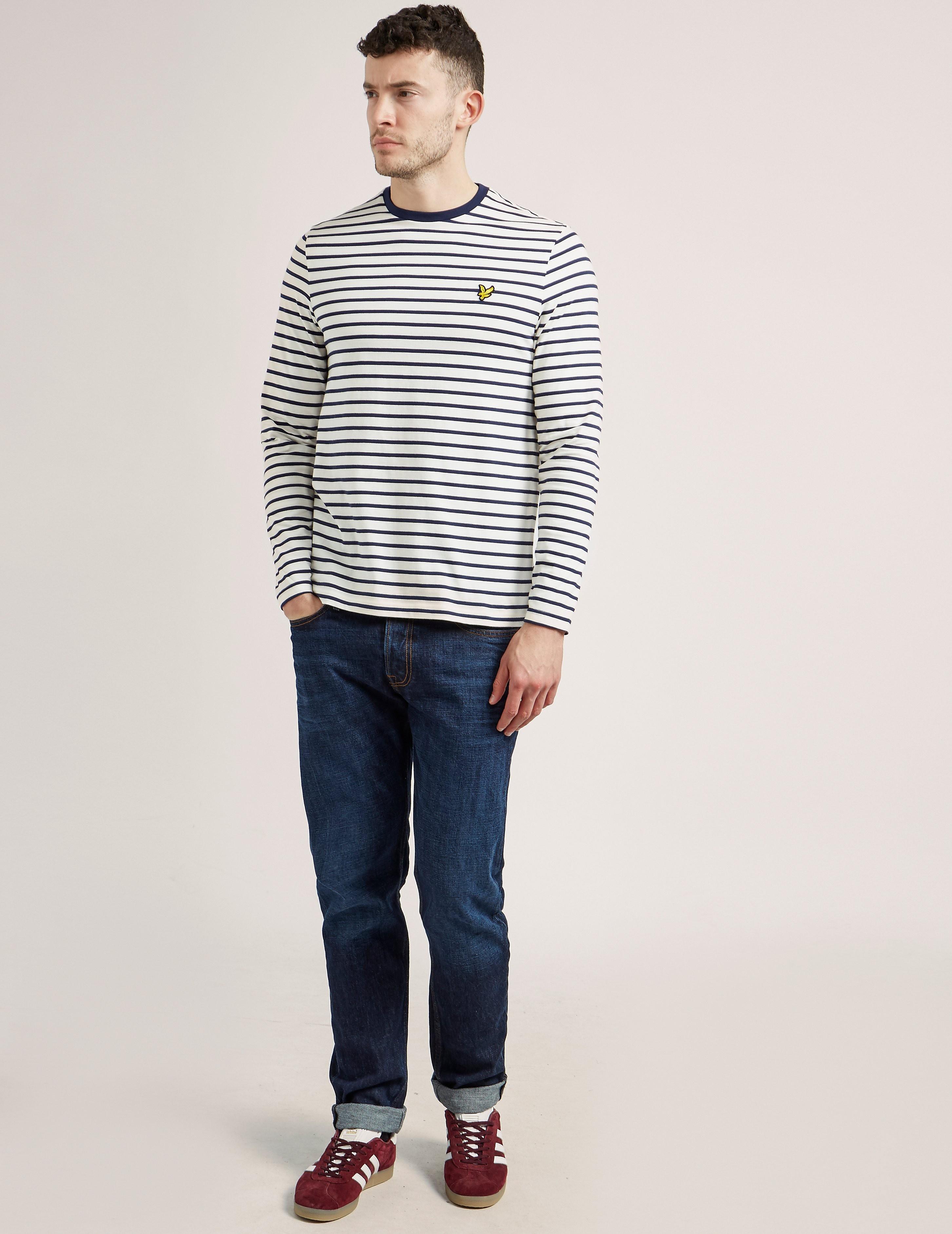 Lyle & Scott Brenton Stripe Long Sleeve T-Shirt