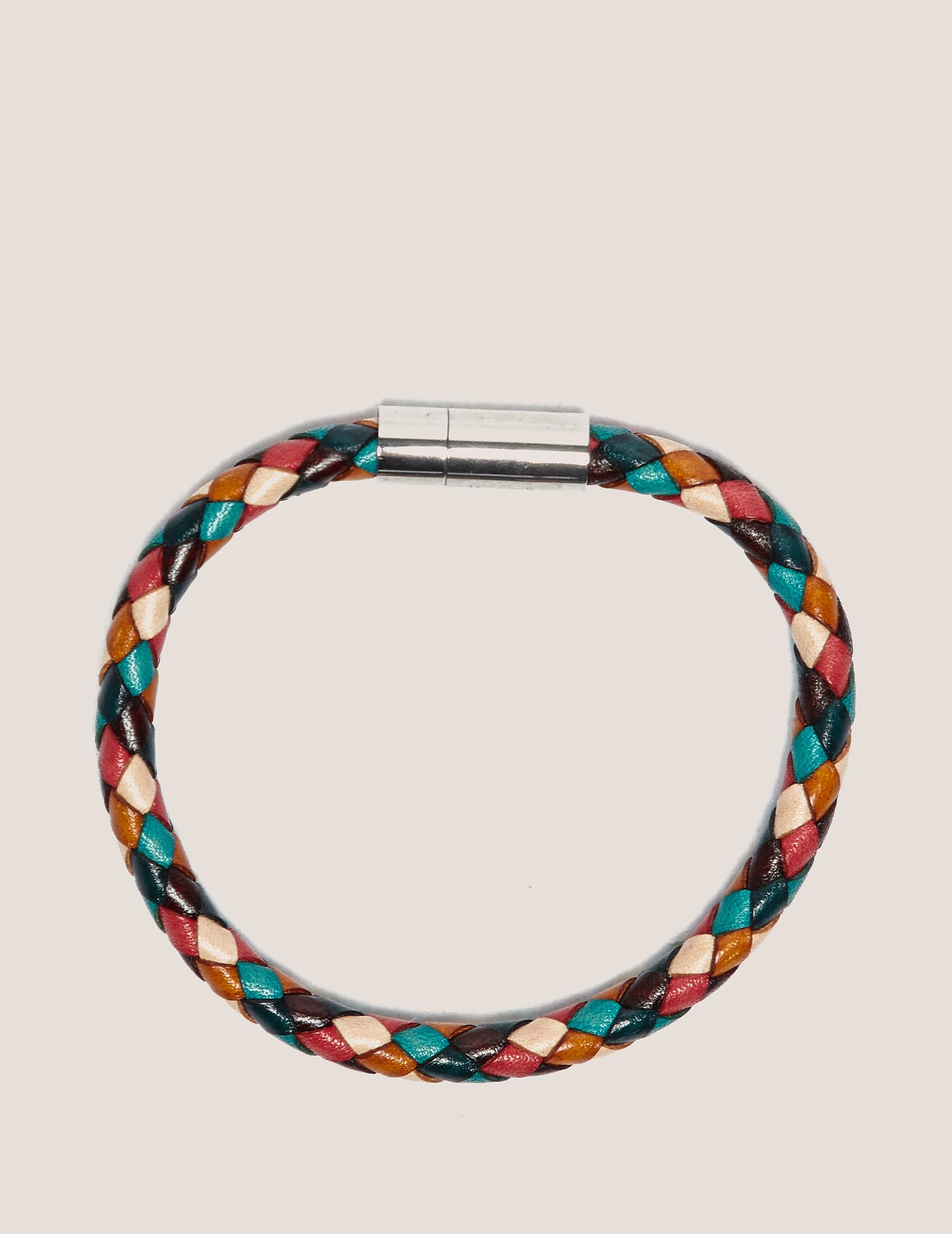 Paul Smith Leather Plaited Bracelet