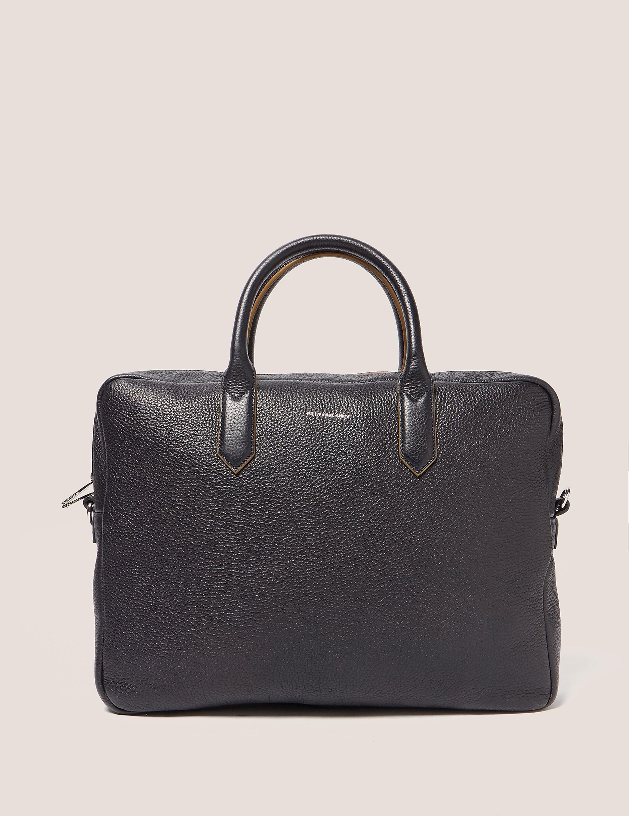 Paul Smith Sporty Leather Folio Bag