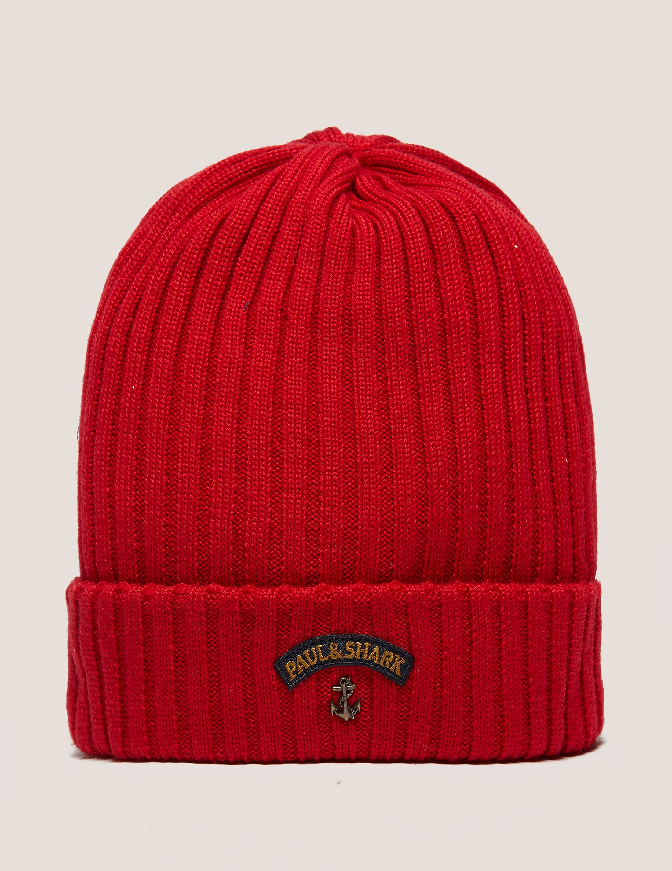 Paul and Shark Logo Beanie