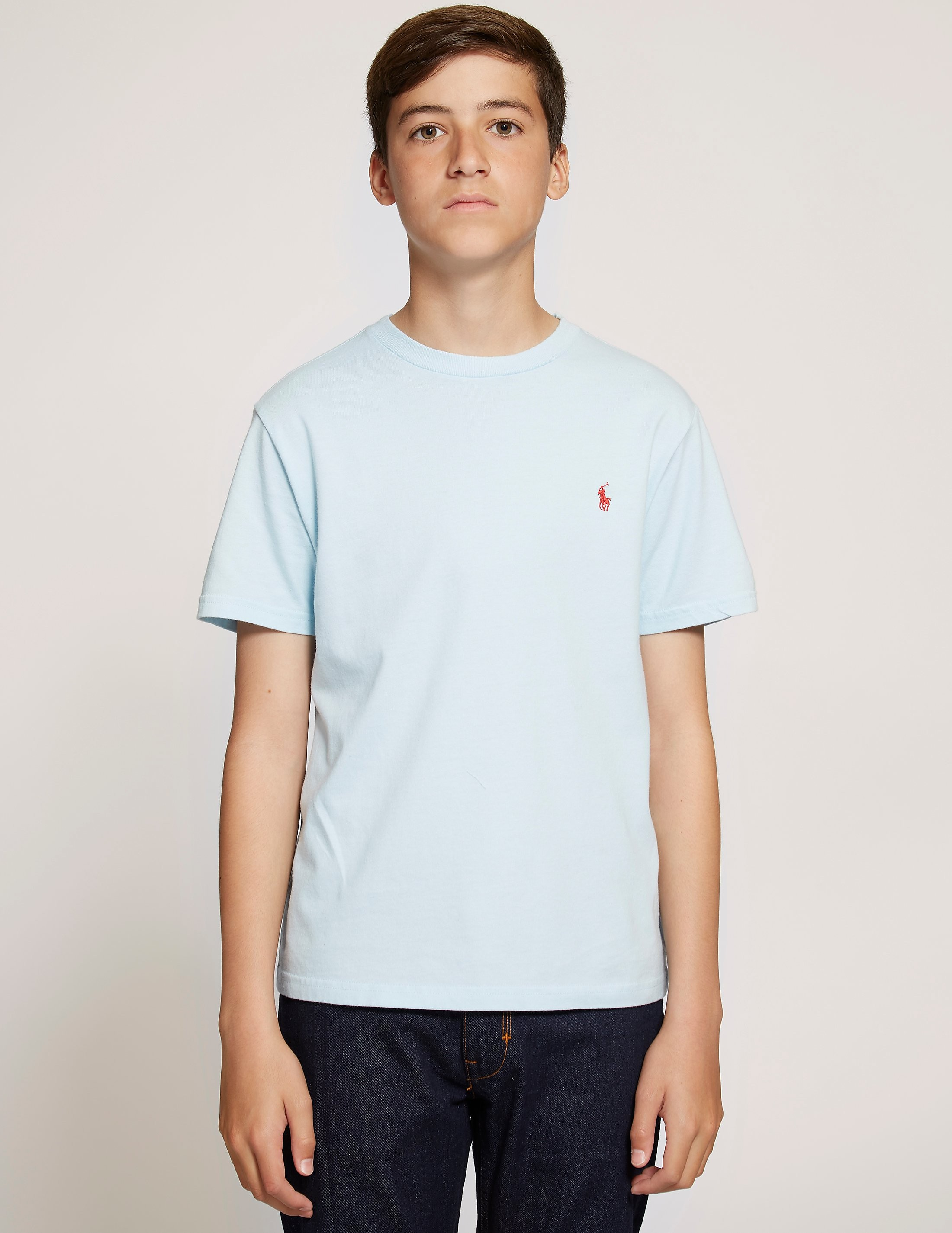 Polo Ralph Lauren Cotton Jersey Crew Short Sleeve T-Shirt