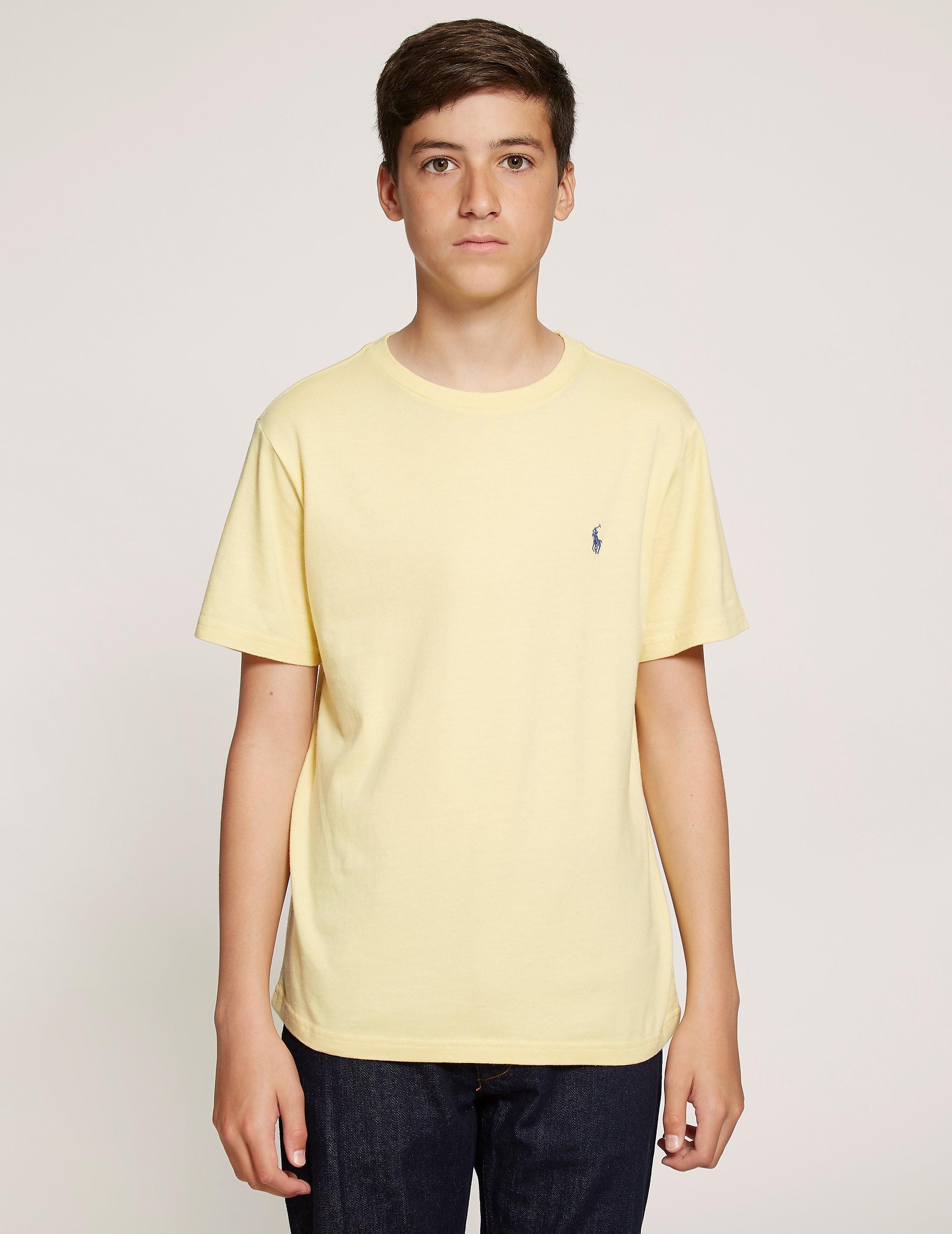Polo Ralph Lauren Cotton Jersey Crew Short Sleeve T-Shirt