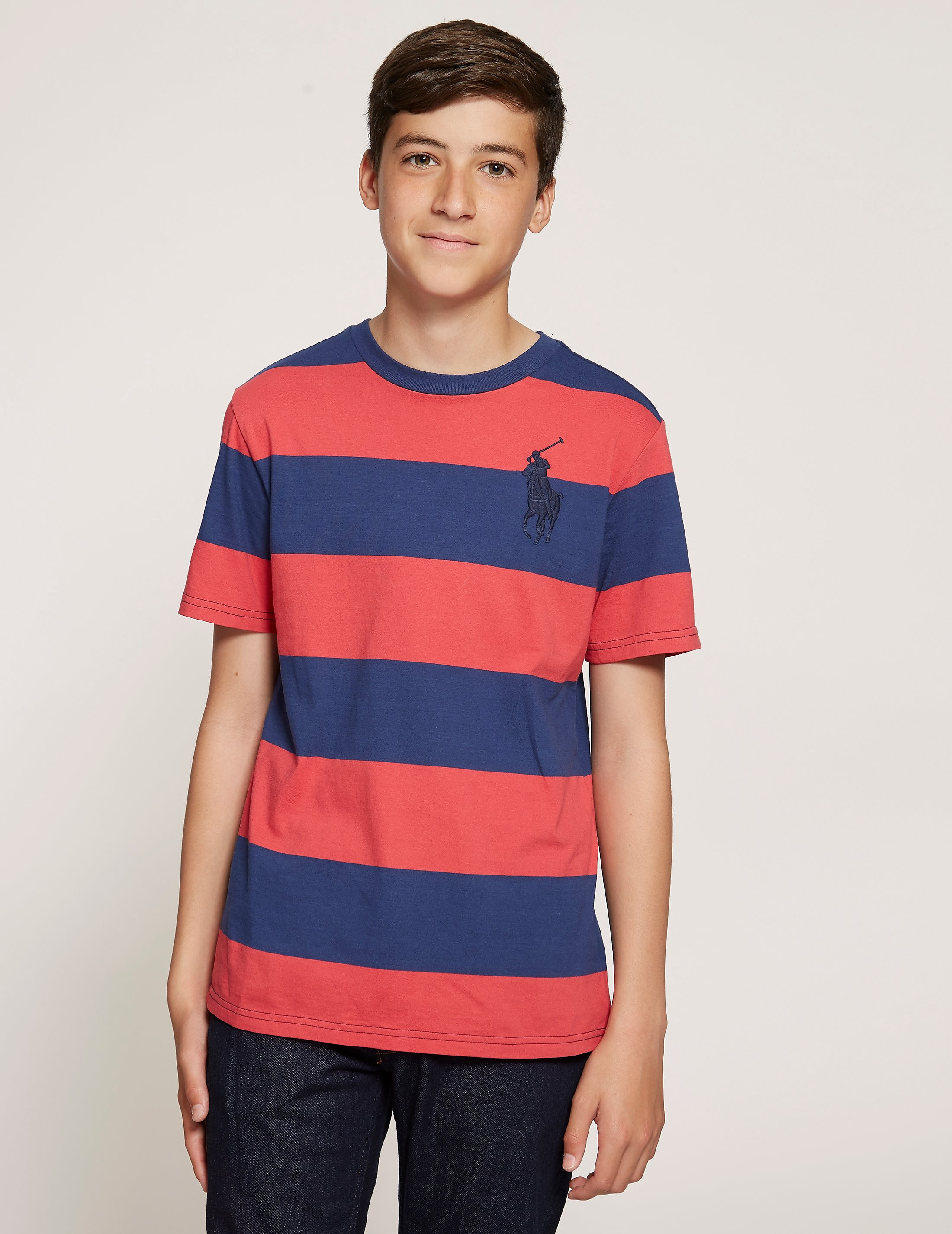 Polo Ralph Lauren Stripe Cotton Jersey T-Shirt