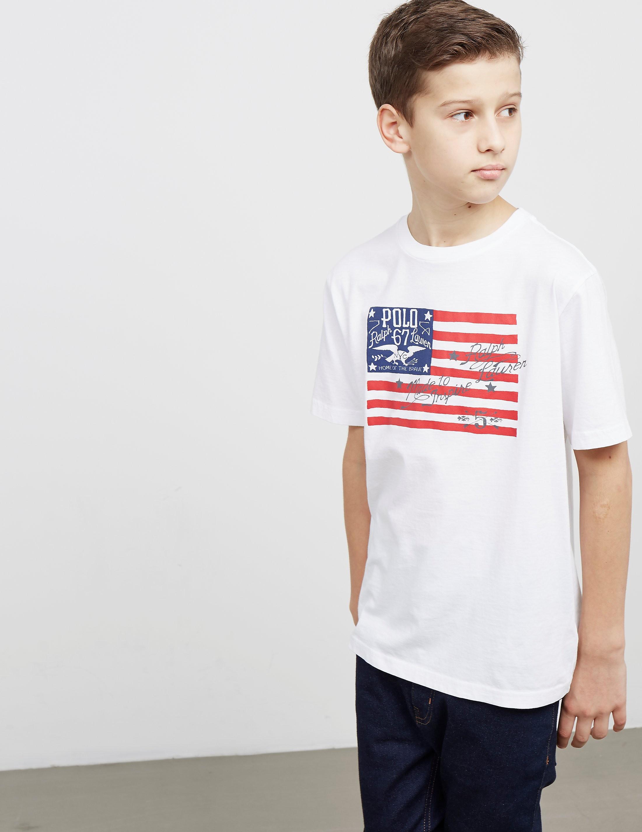 Polo Ralph Lauren Flag Short Sleeve T-Shirt