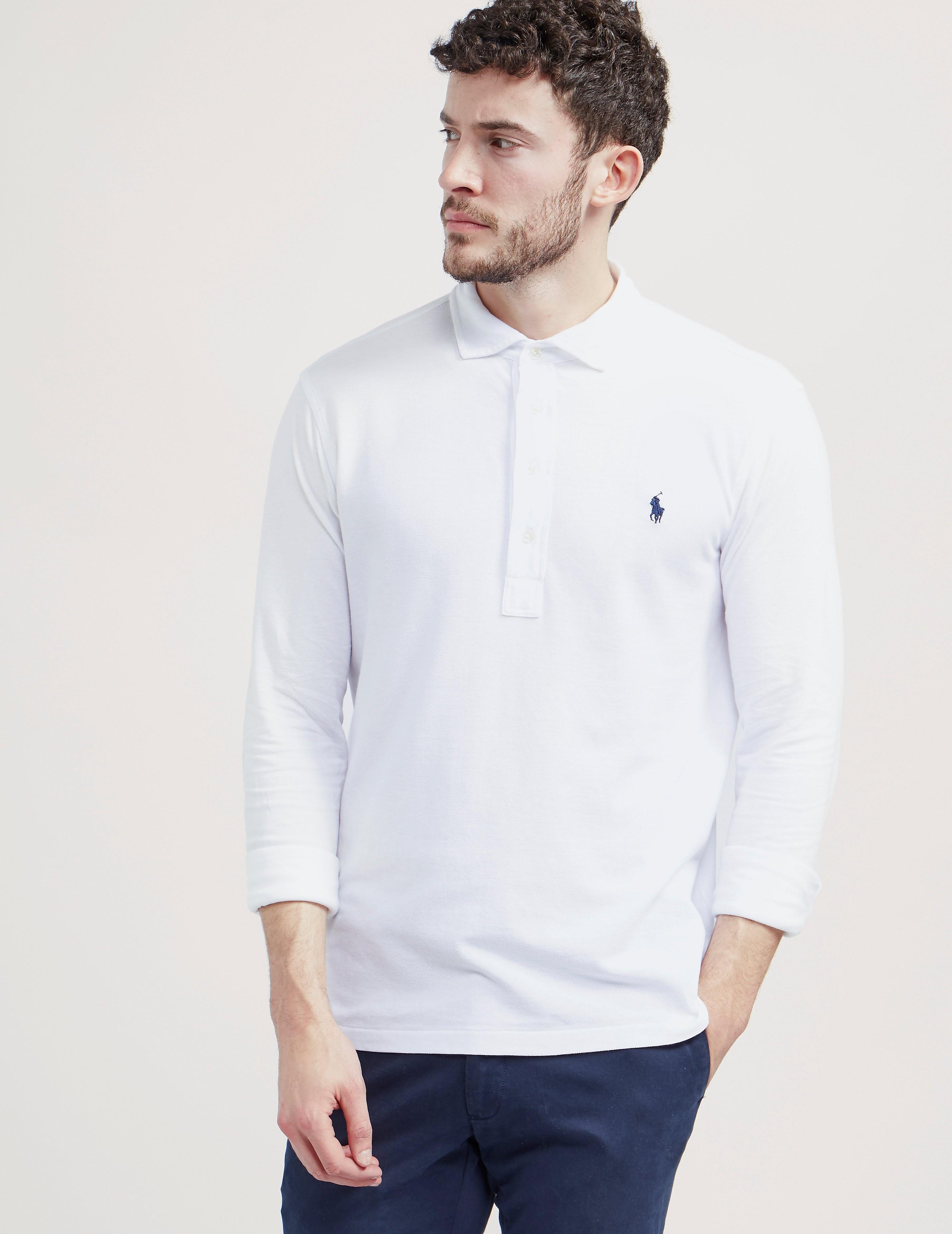 Polo Ralph Lauren Feather Mesh Polo Shirt