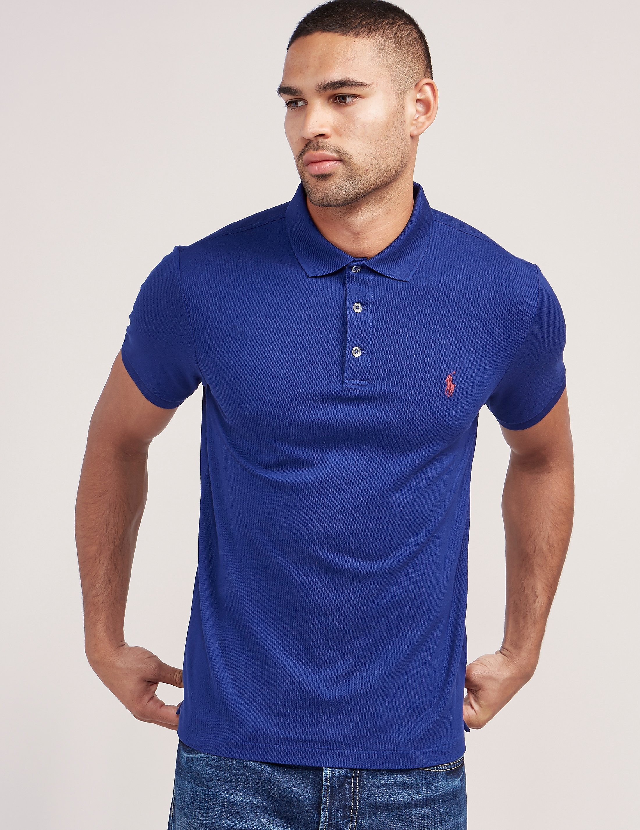 Polo Ralph Lauren Stretch Short Sleeve Polo Shirt