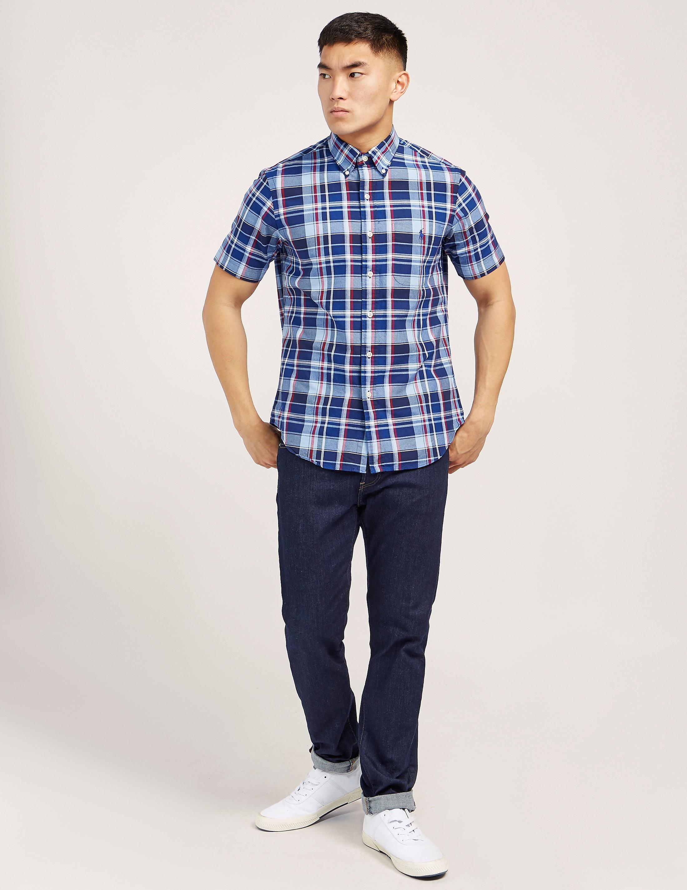 Polo Ralph Lauren Check Short Sleeve Shirt