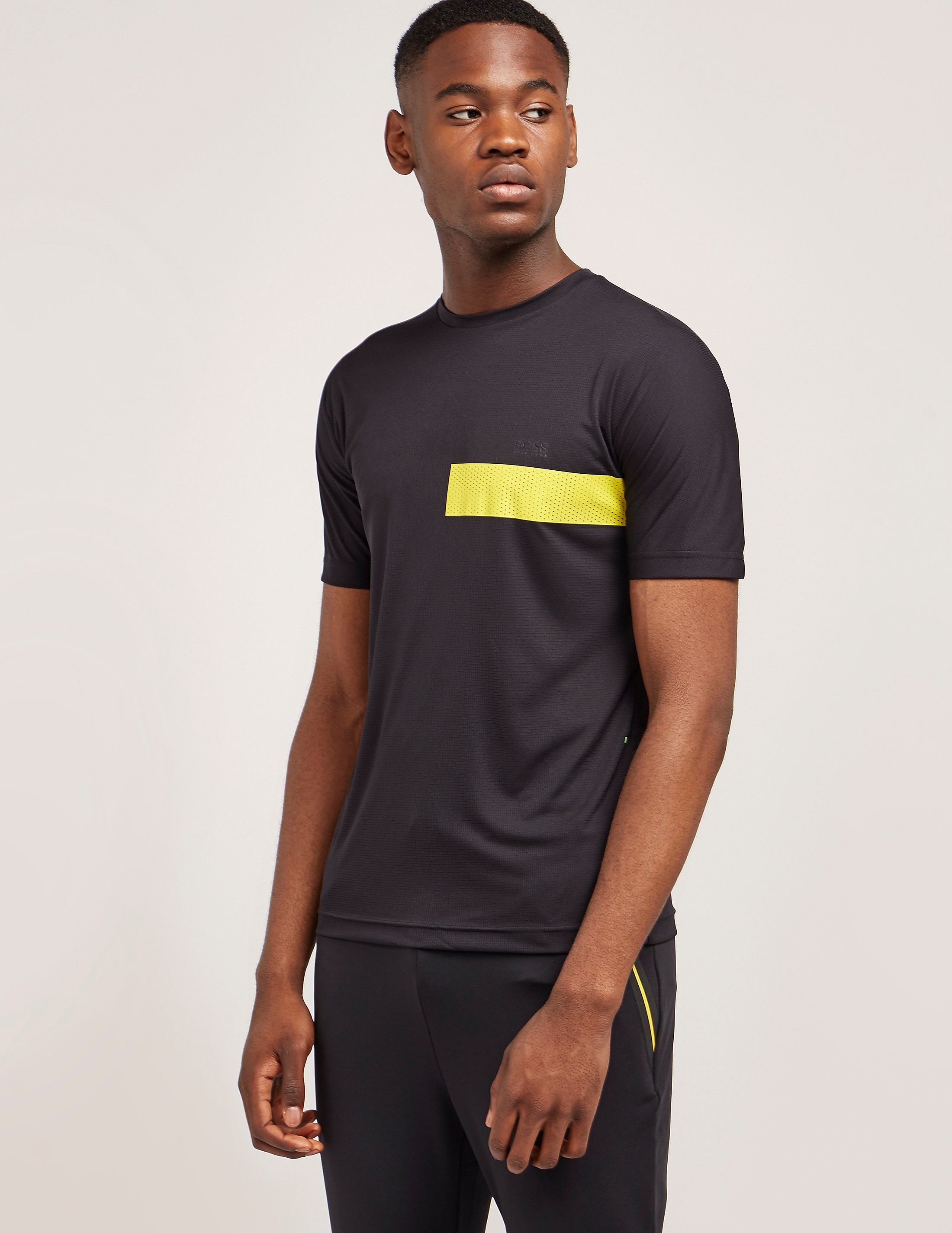 BOSS Green Stripe Short Sleeve T-Shirt