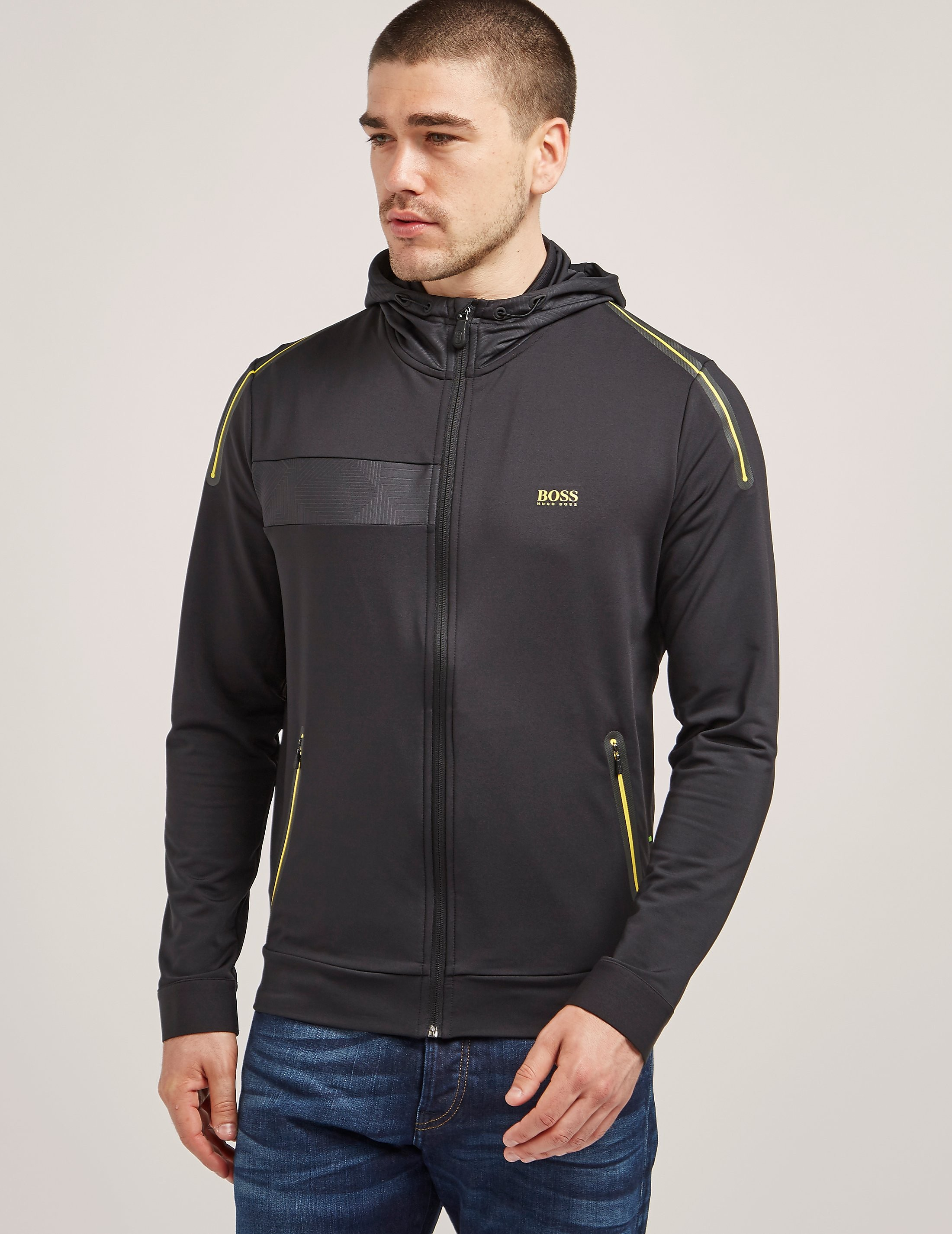 BOSS Green Slim Fit Full Zip Hoody