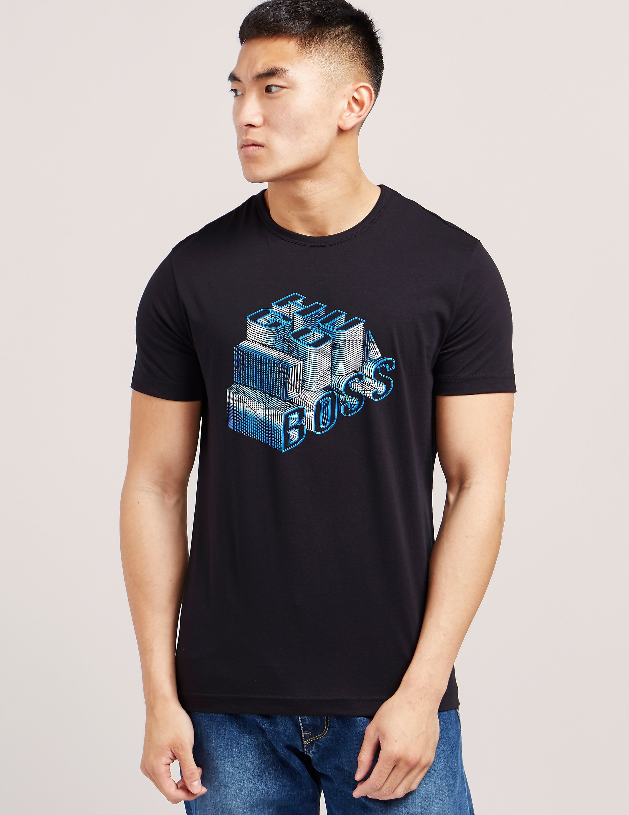 BOSS Green 3-D Short Sleeve T-Shirt