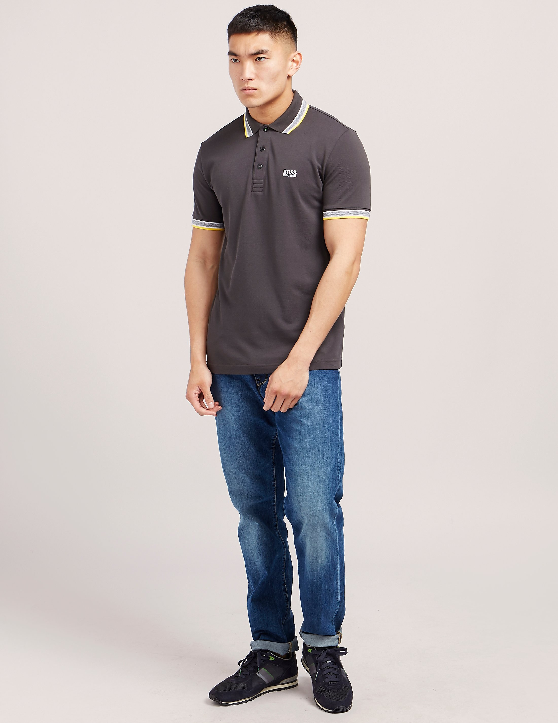 BOSS Green Paddy Short Sleeve Polo Shirt