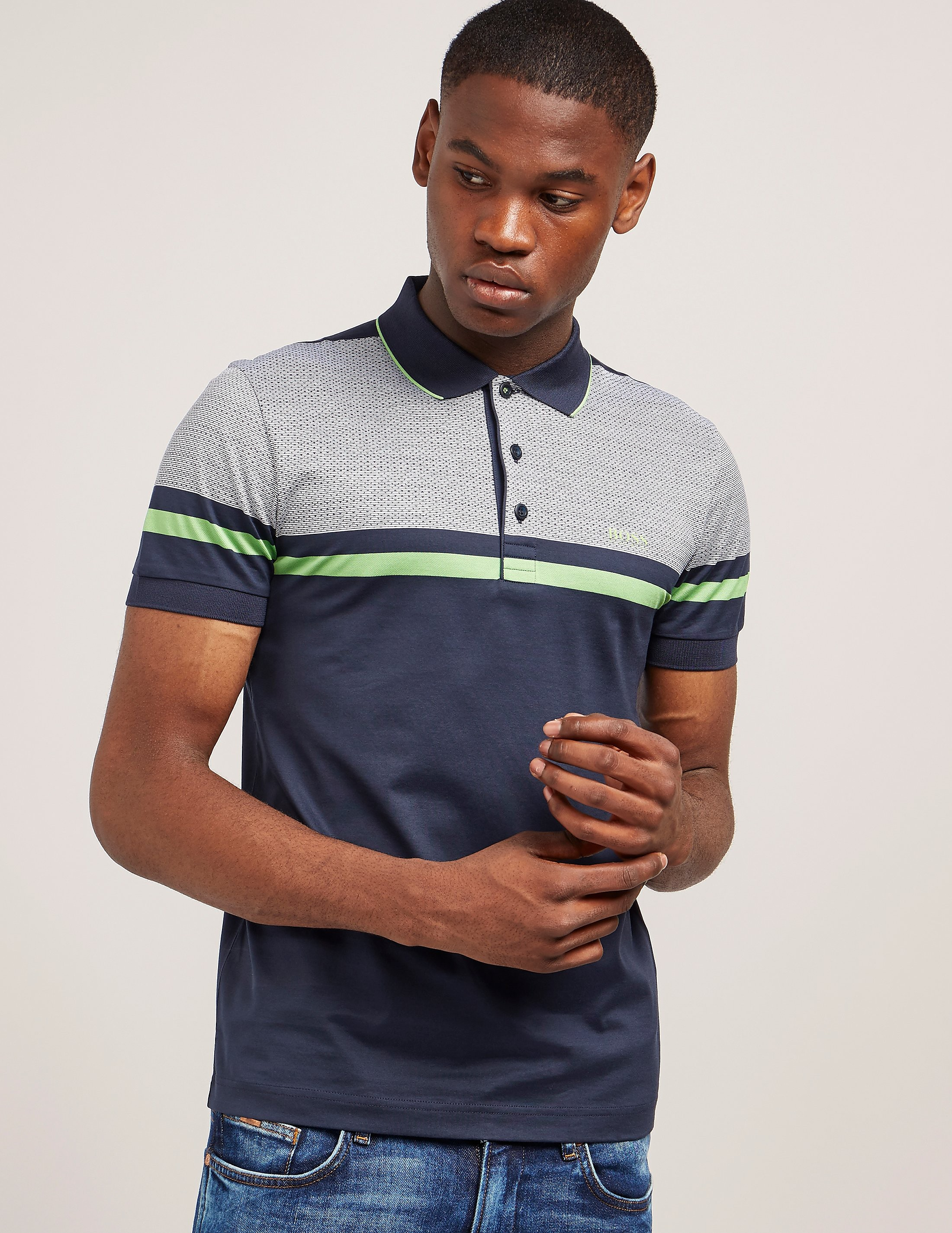 BOSS Green Paule 5 Short Sleeve Polo Shirt