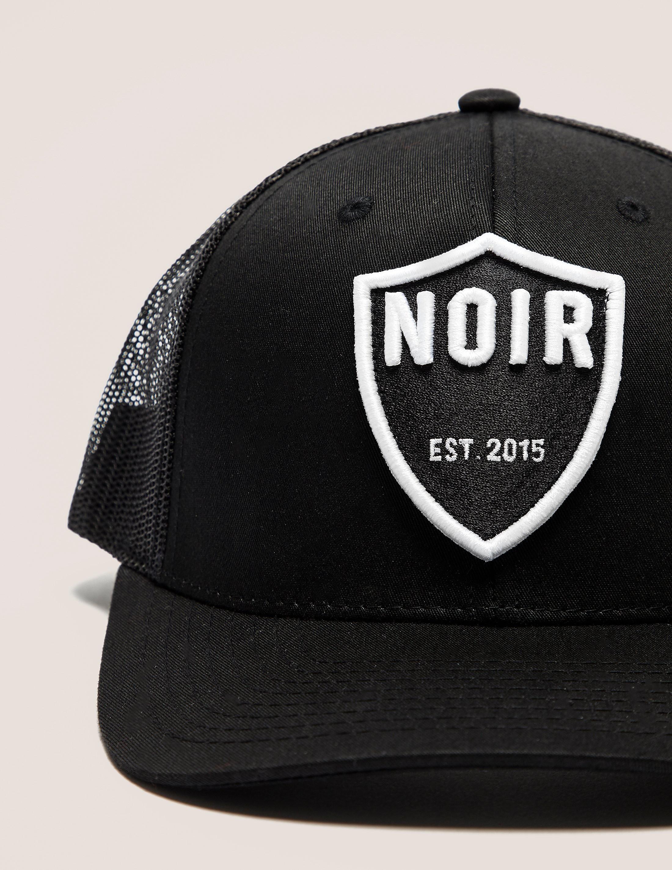 societe NOIR Noir Shield Cap