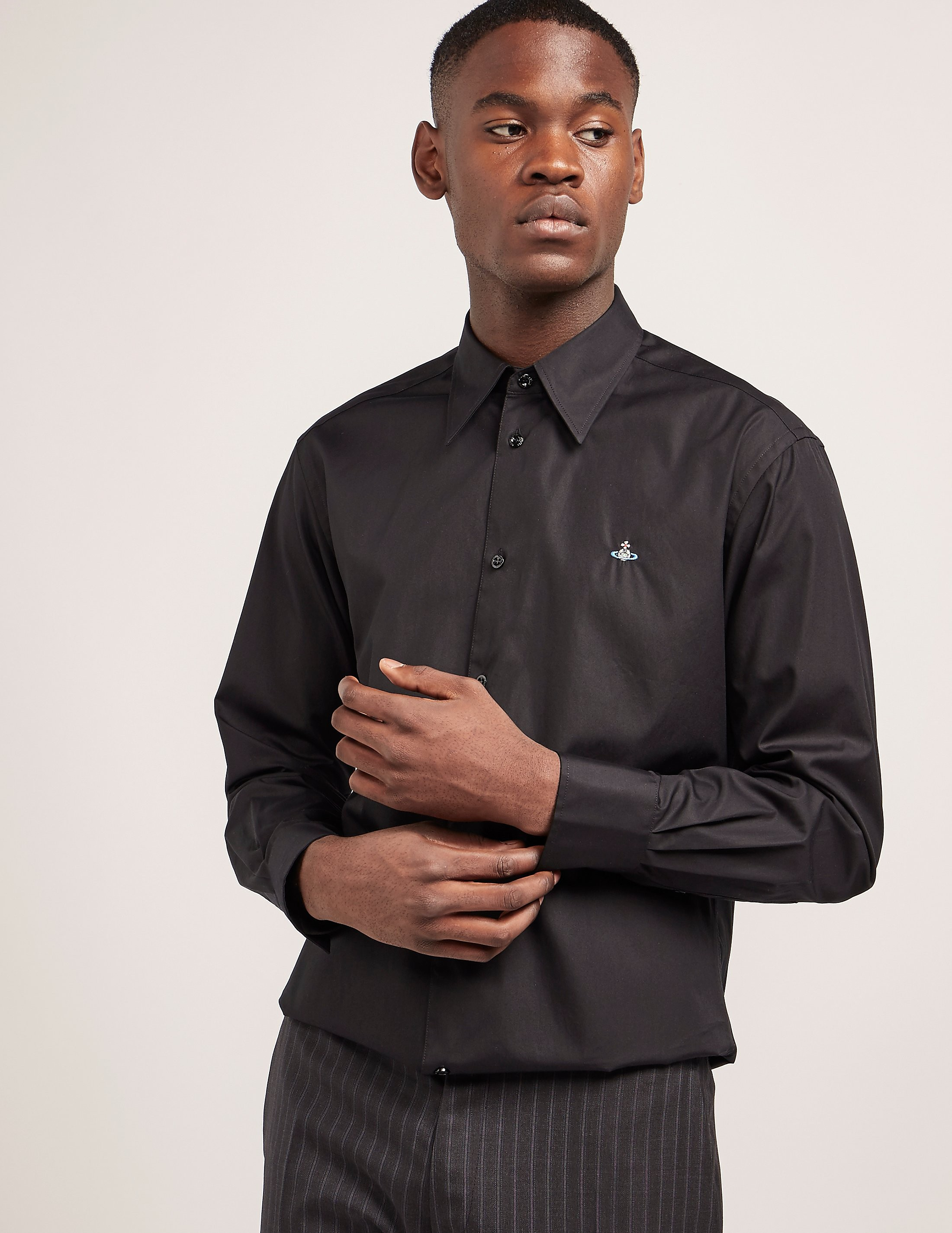 Vivienne Westwood Poplin Long Sleeve Shirt