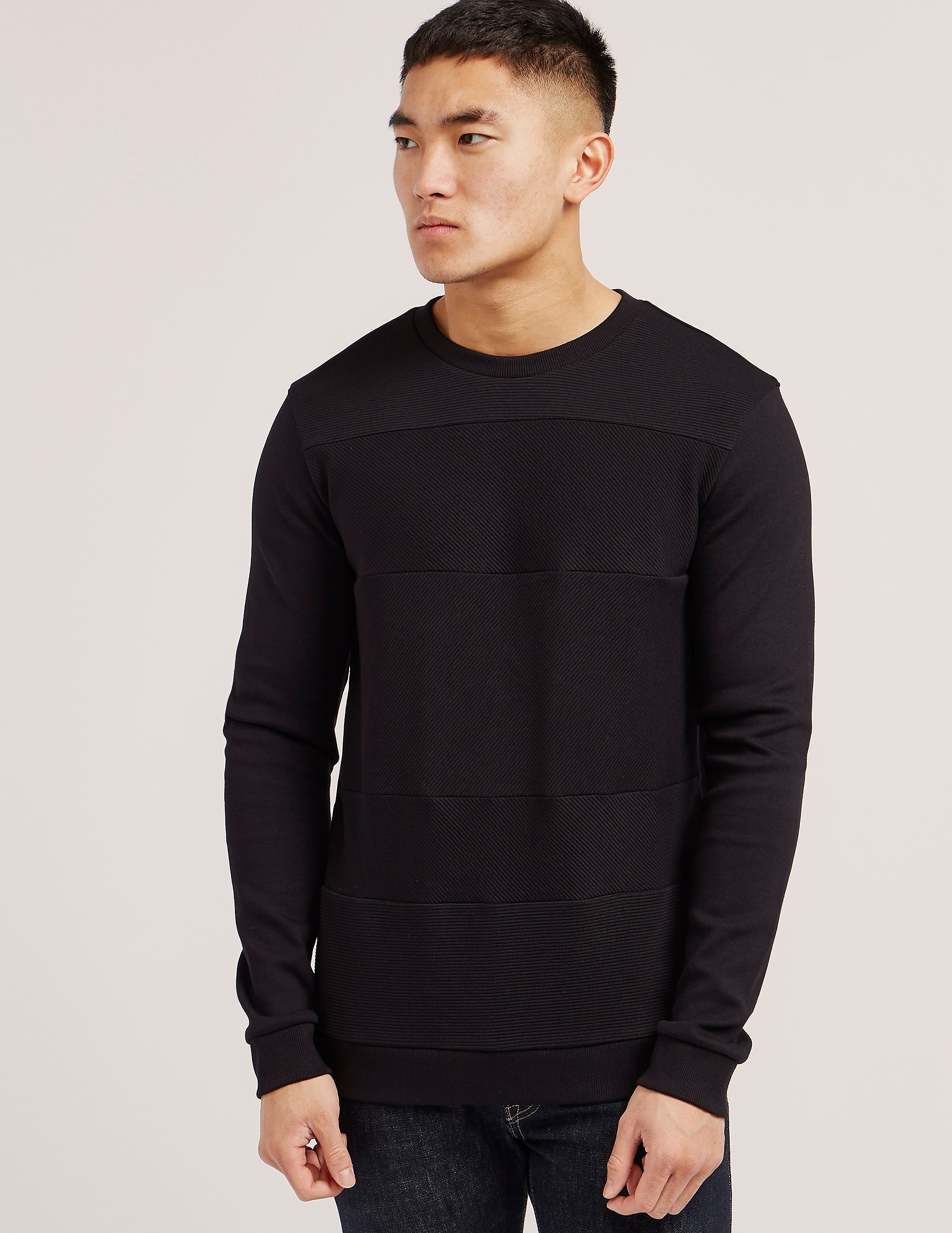 HUGO Ribbed Sweatshirt