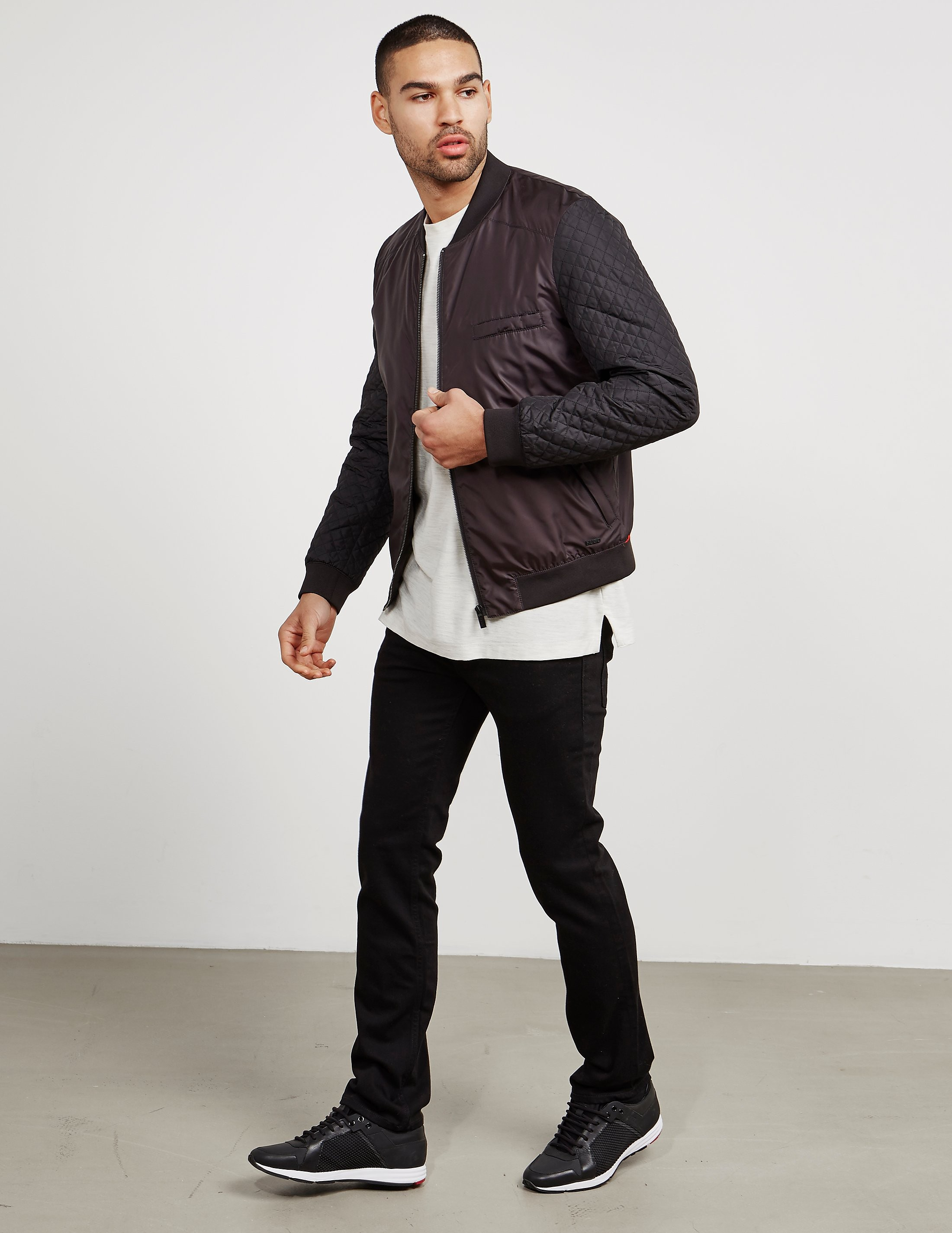 HUGO Belko Padded Bomber Jacket