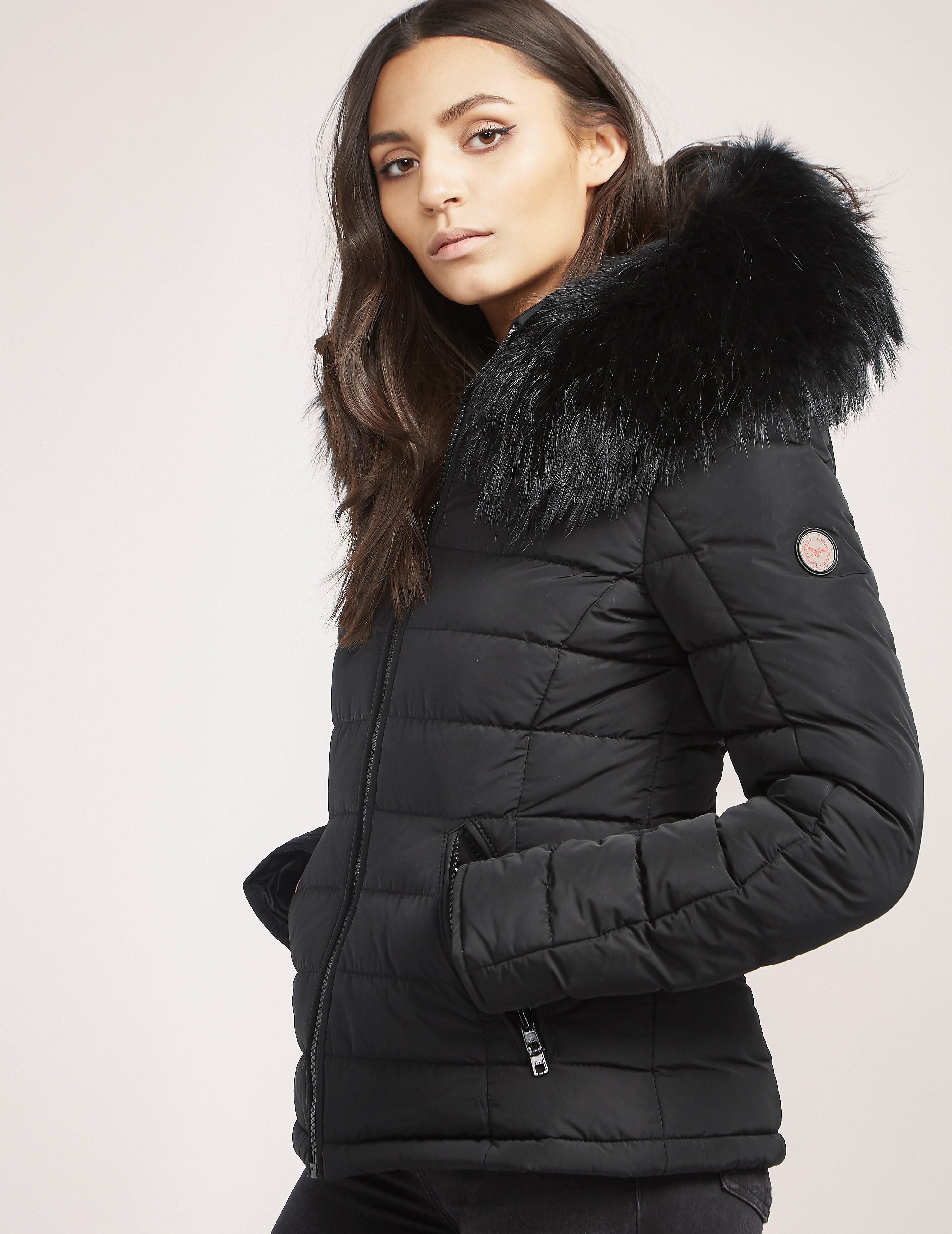 Froccella B-153 Big Padded Fur Jacket