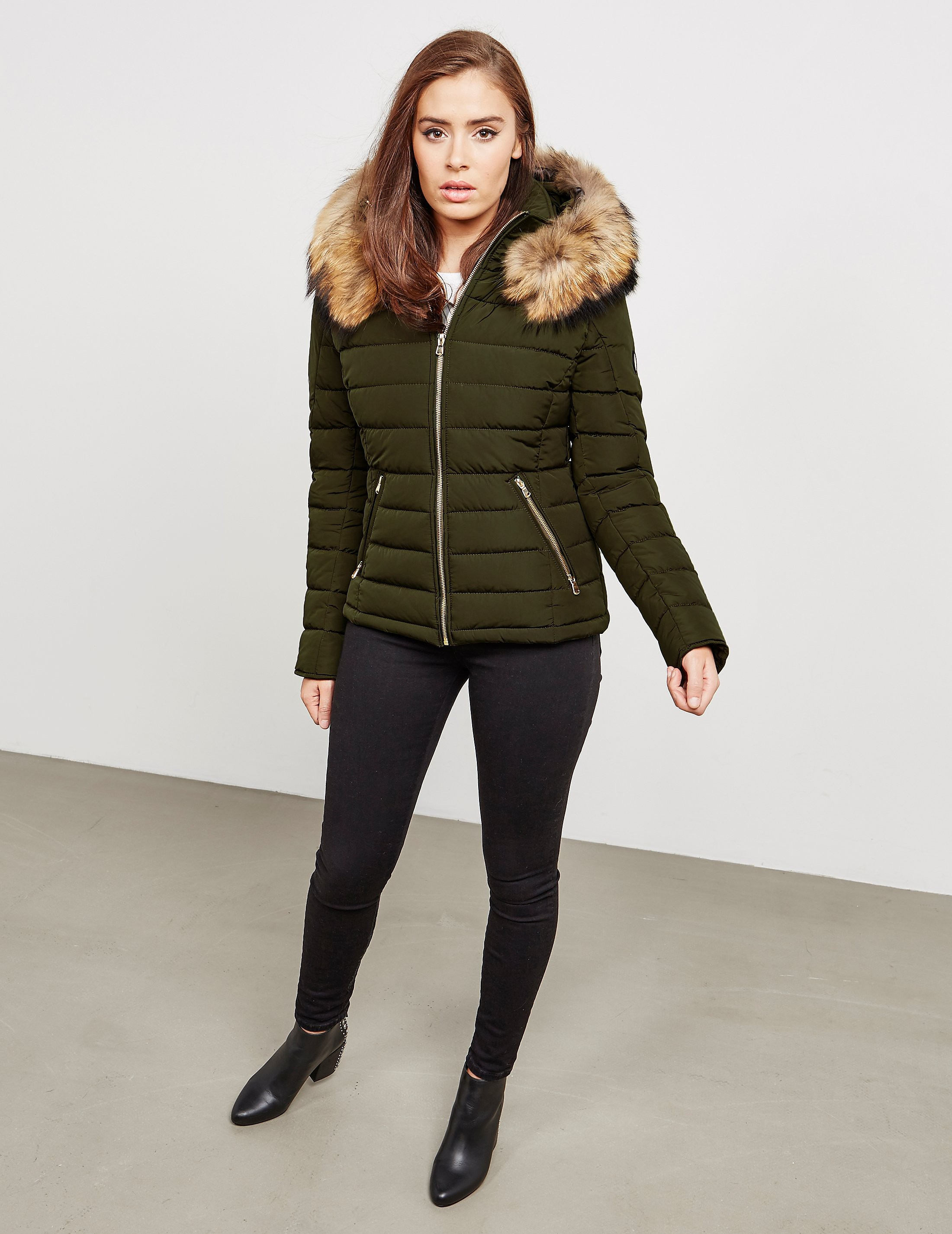 Froccella B-153 Big Fur Jacket