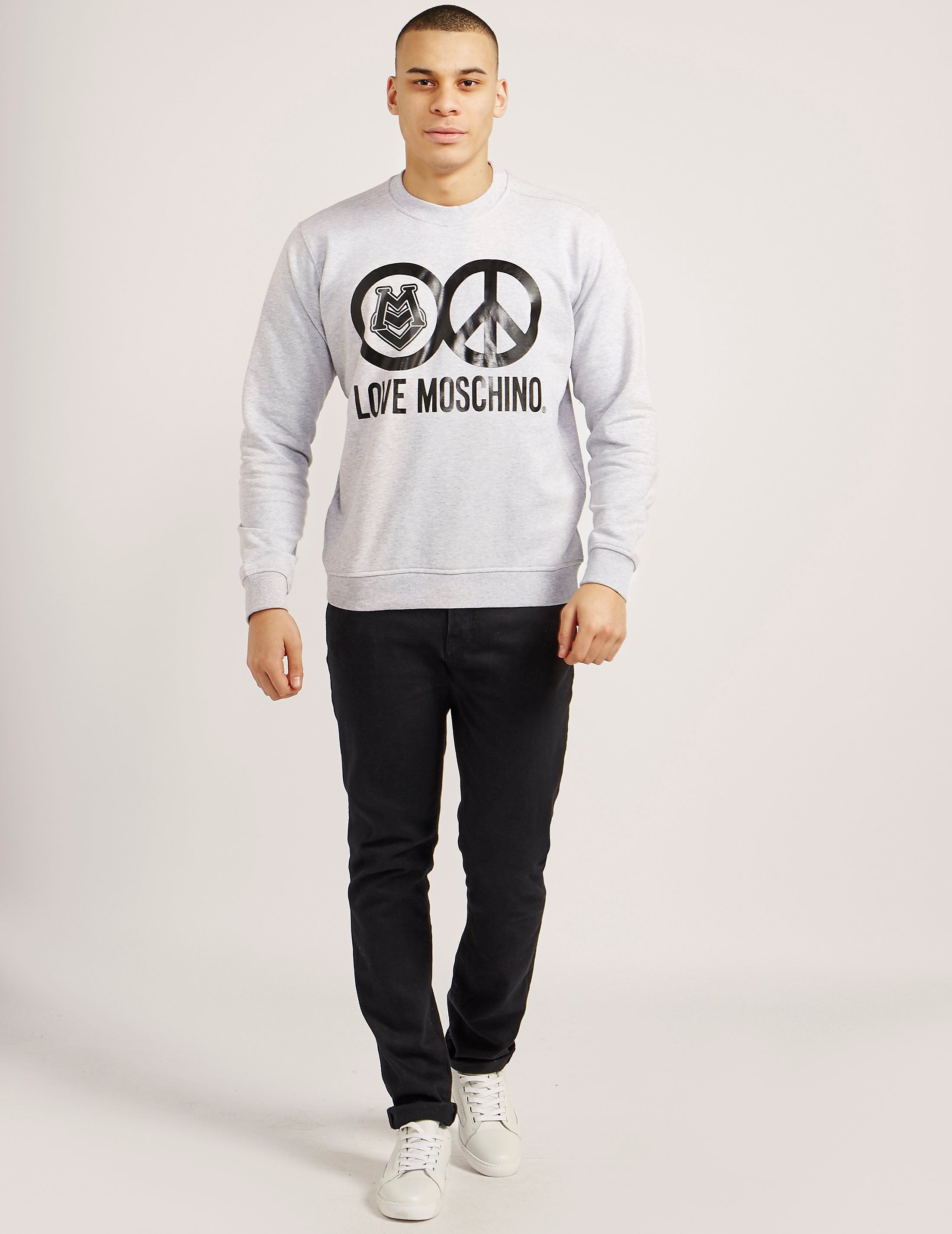 Love Moschino Peace Sweatshirt
