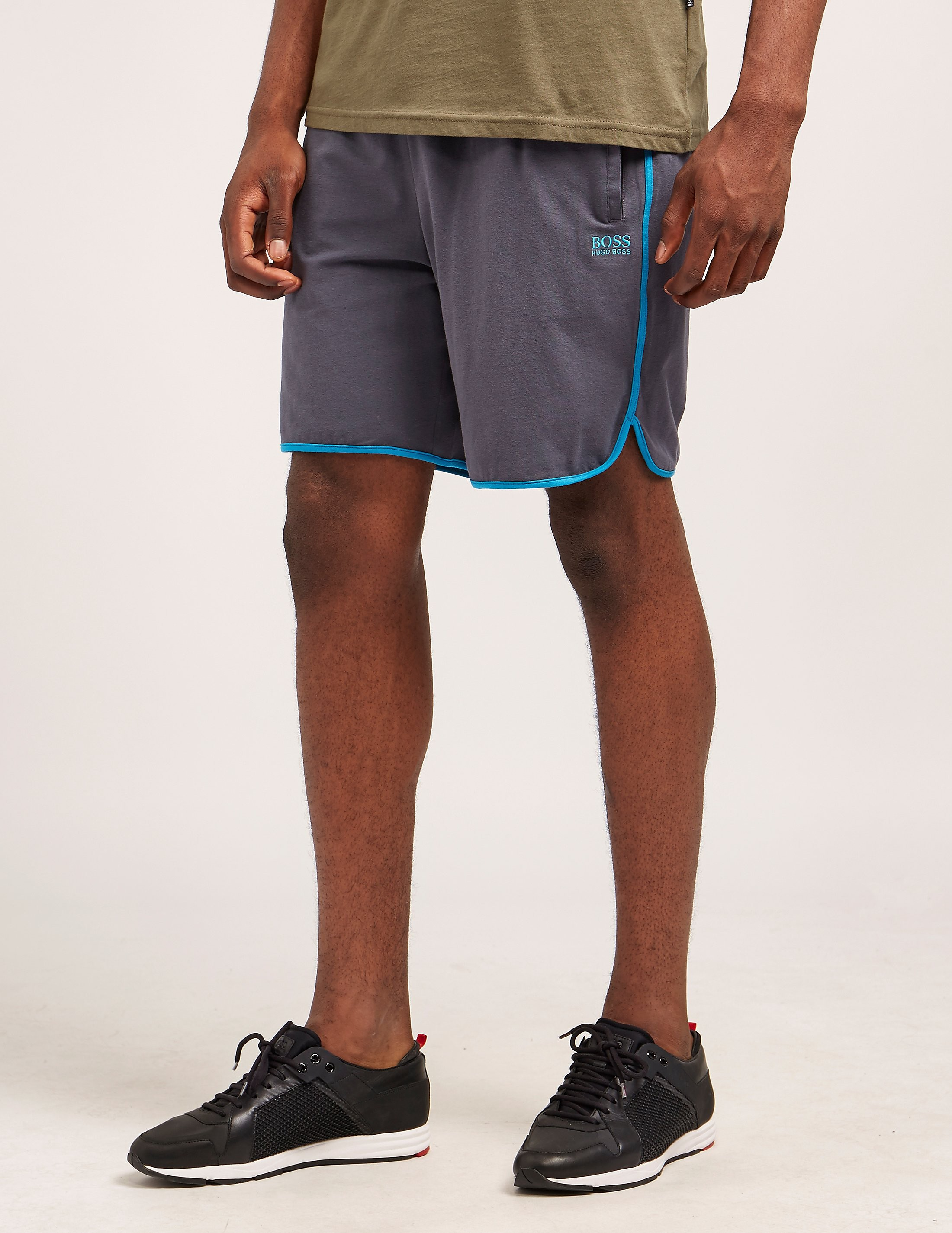 BOSS Logo Fleece Shorts