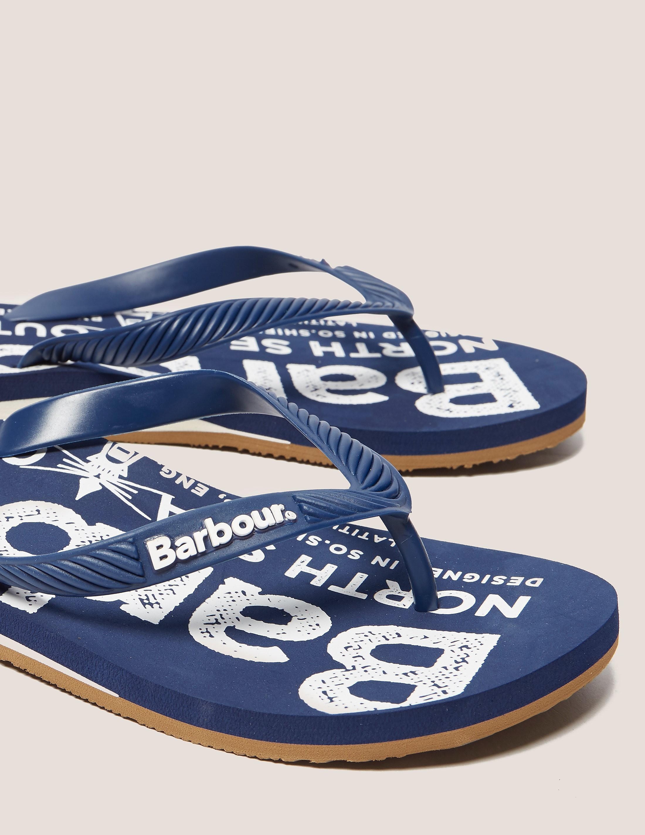 Barbour North Sea Beach Flip Flops