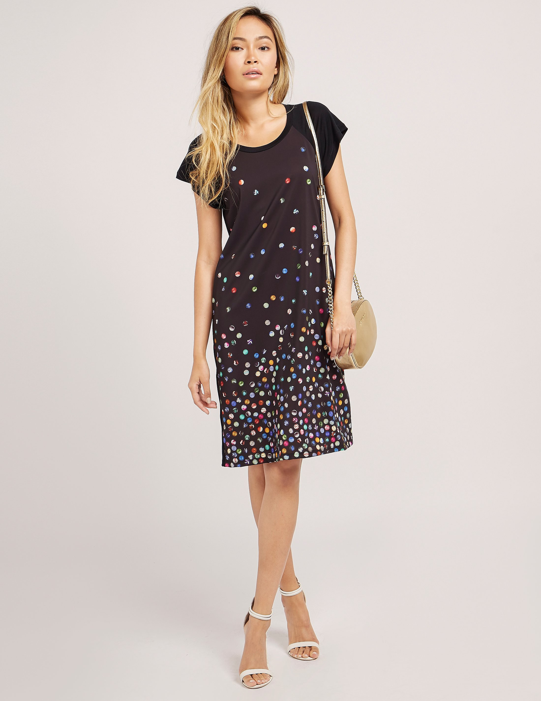 Paul Smith Marble Print Jersey Dress