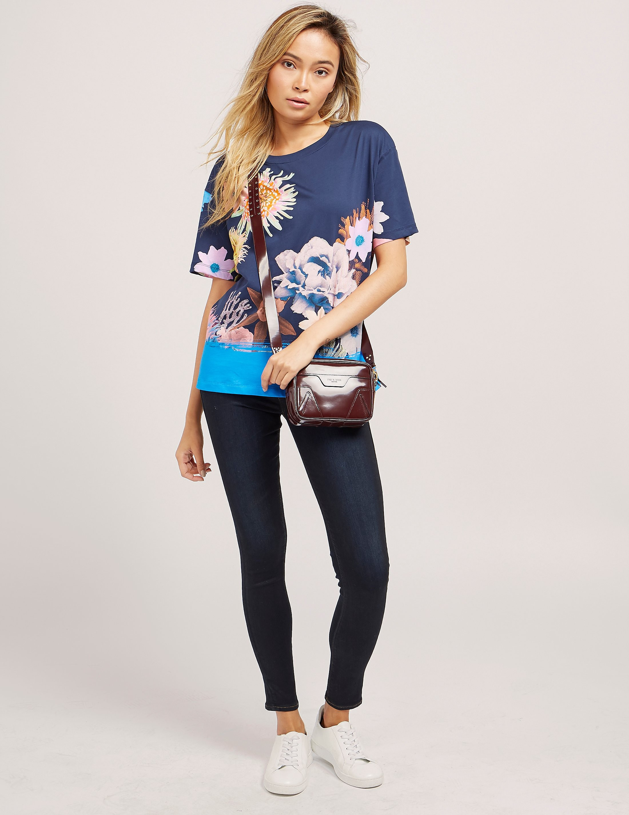 Paul Smith Ocean Floral Print T-Shirt