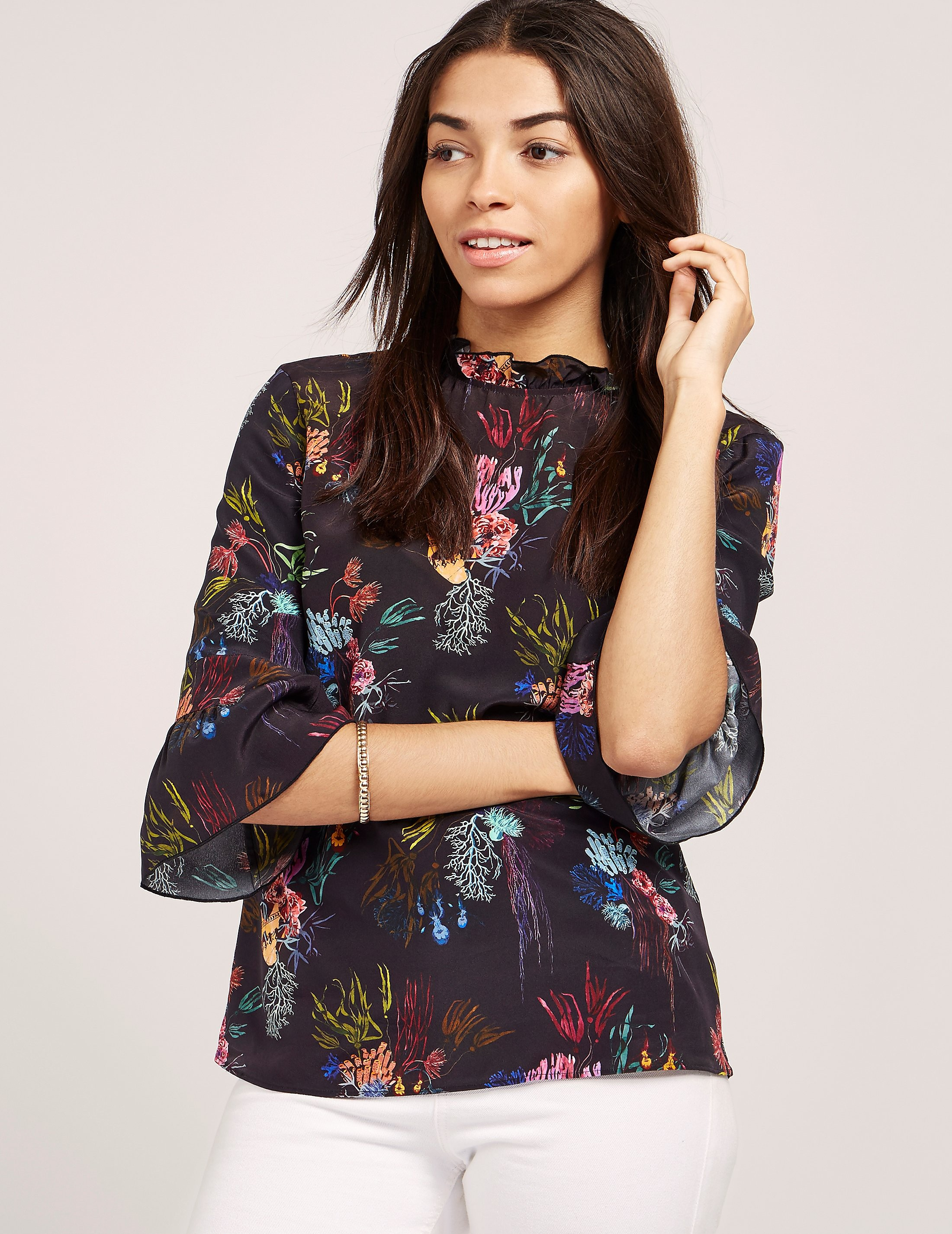 Paul Smith Coral Print Top