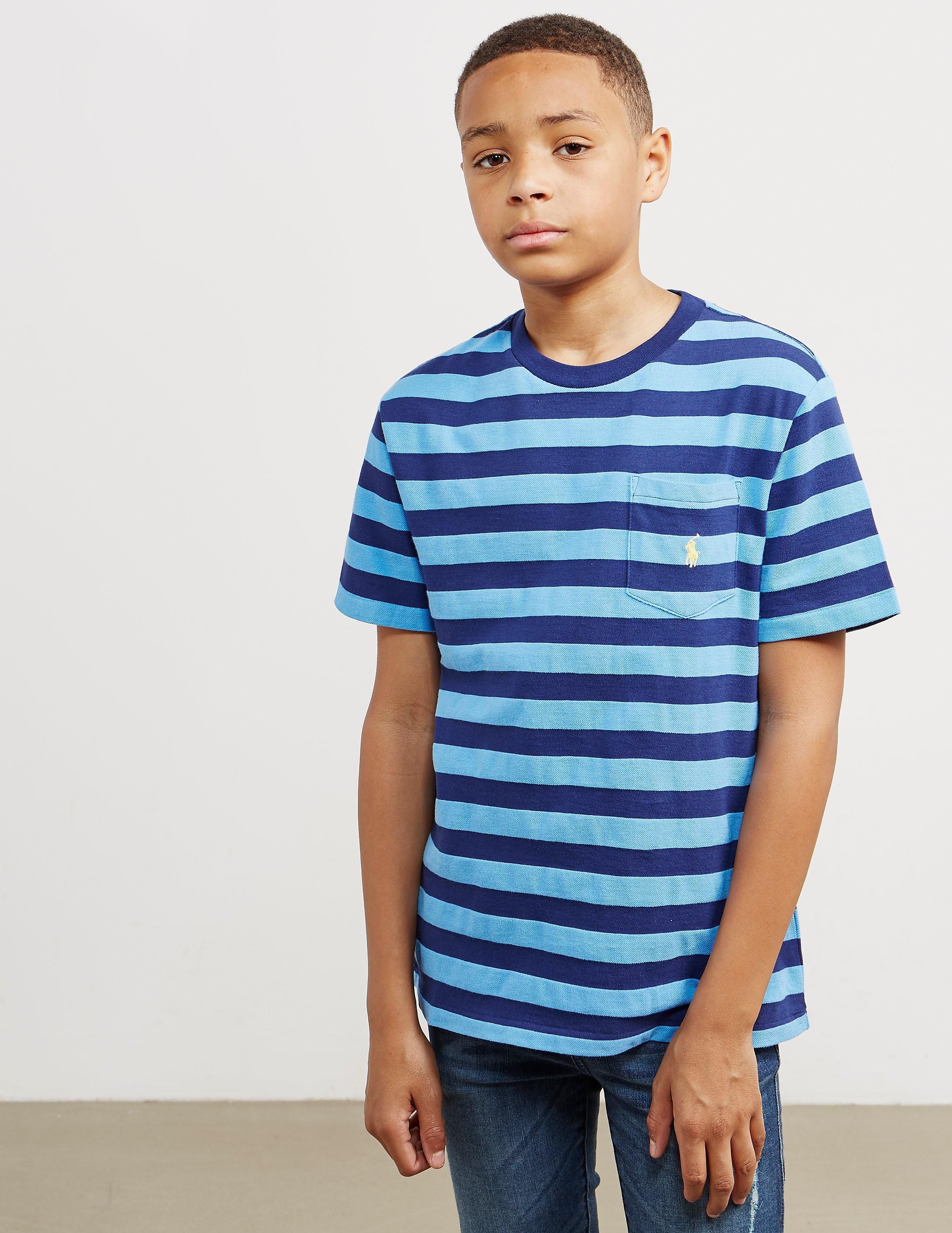 Polo Ralph Lauren Pocket Stripe Short Sleeve T-Shirt