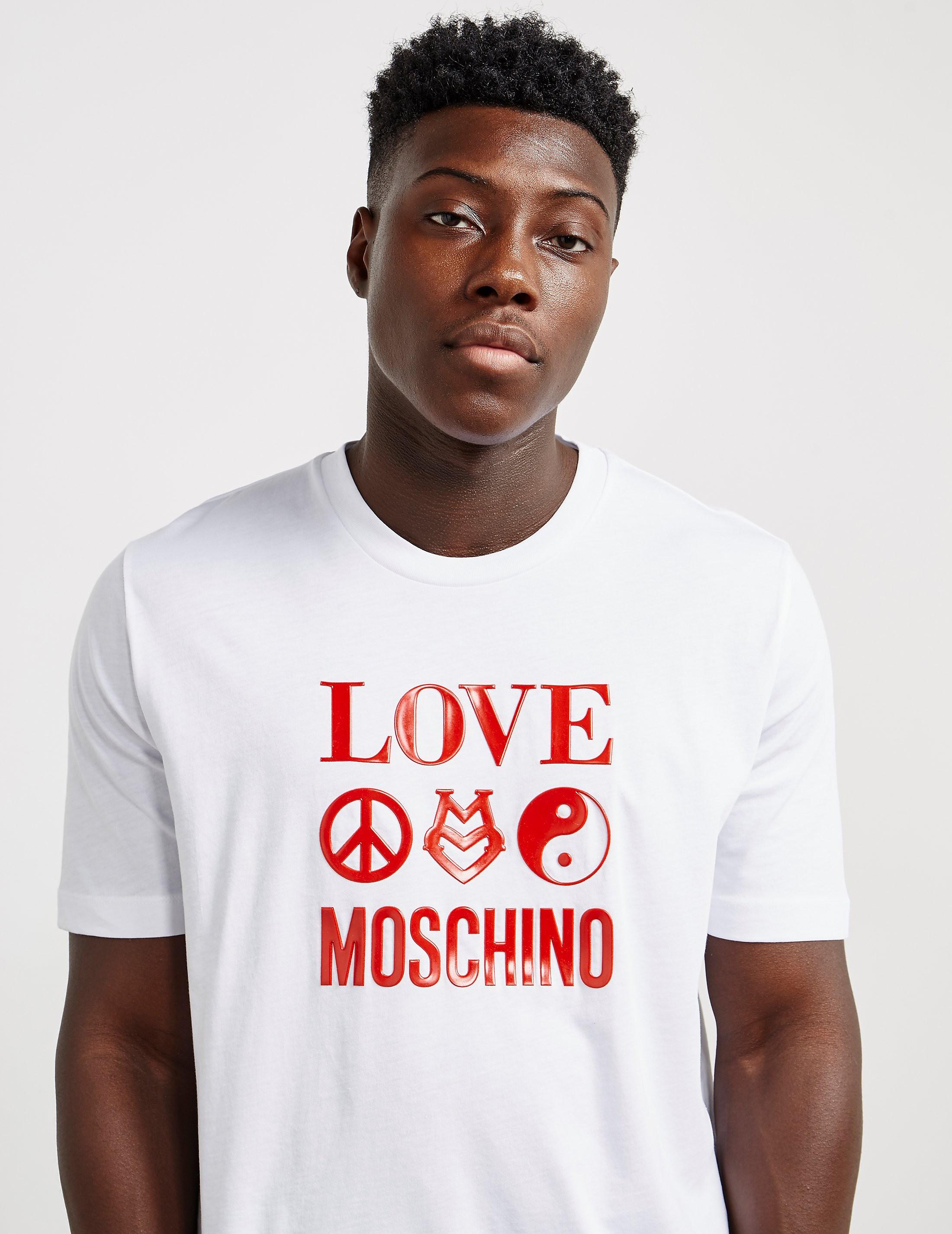 Love Moschino Symbol Short Sleeve T-Shirt