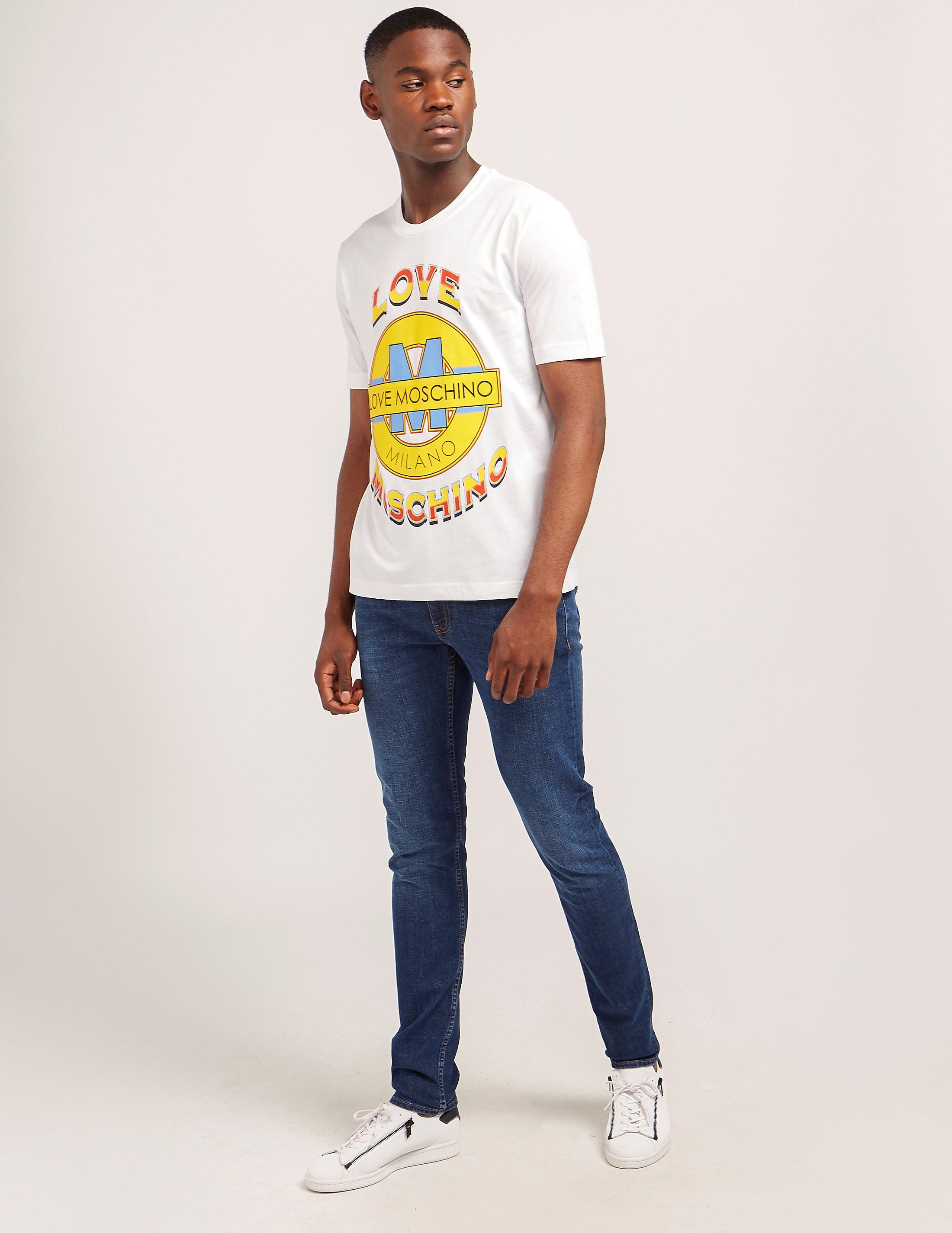 Love Moschino Tape Slim Jeans