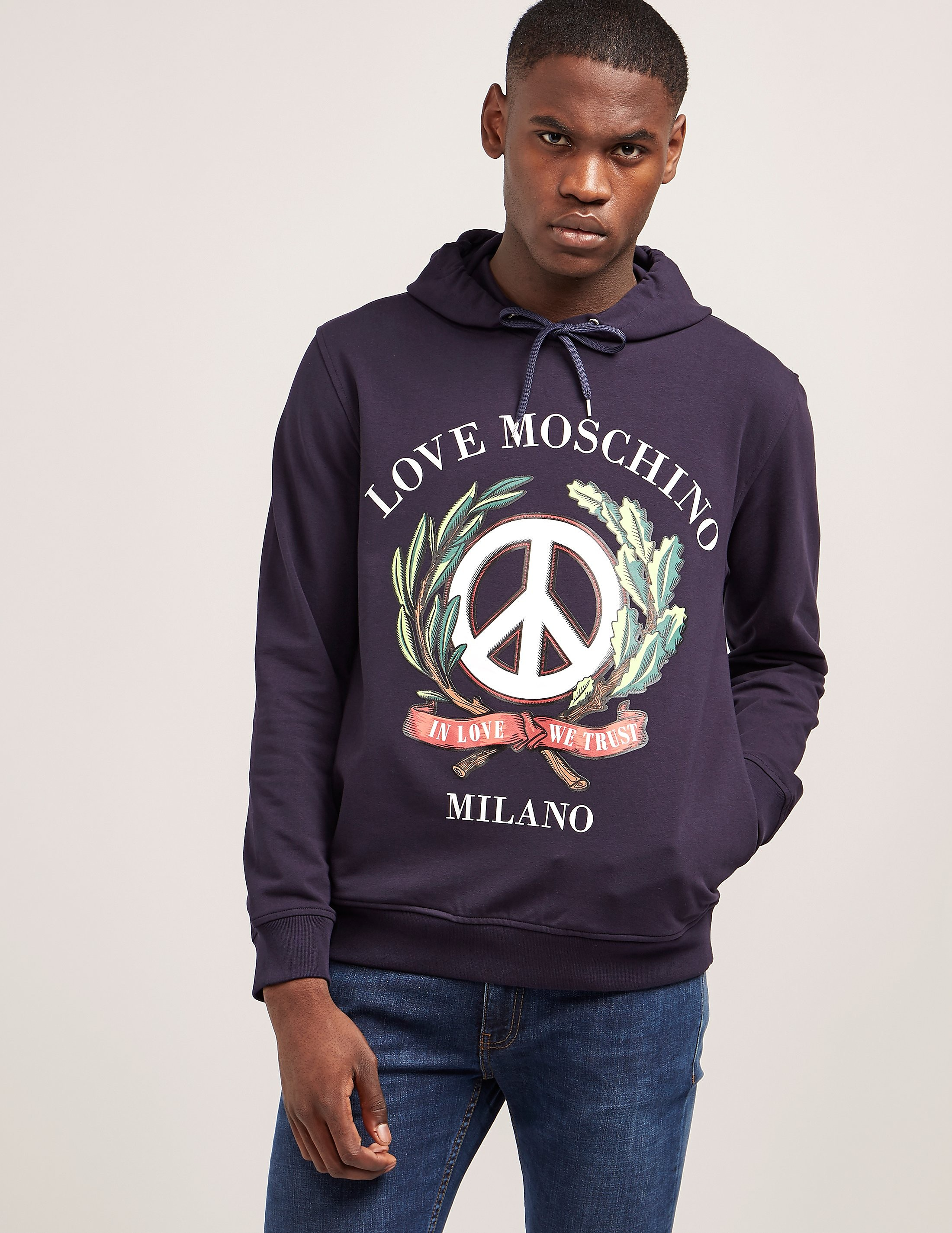 Love Moschino Wreath Logo Hoody