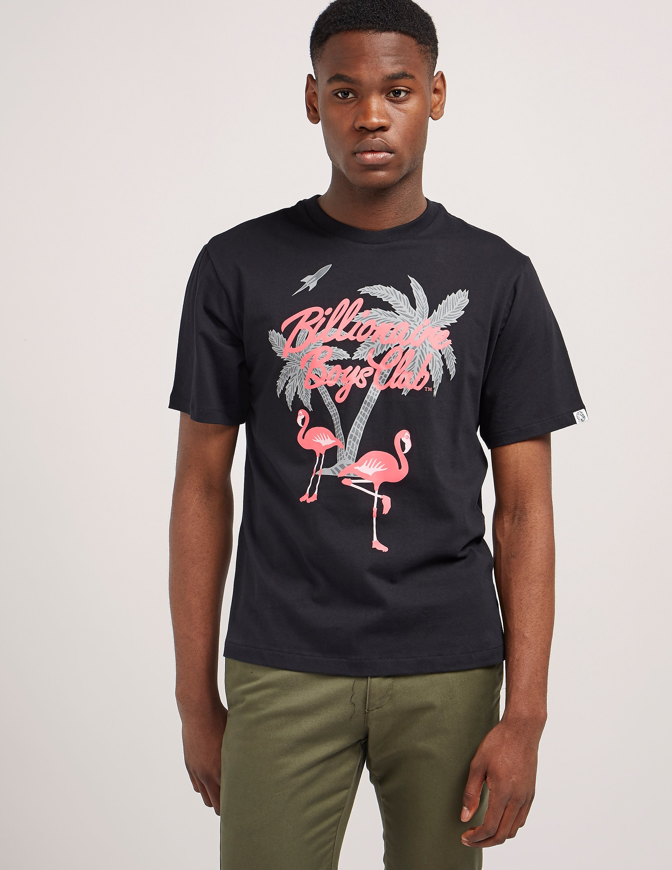 Billionaire Boys Club Flamingo Short Sleeve T-Shirt