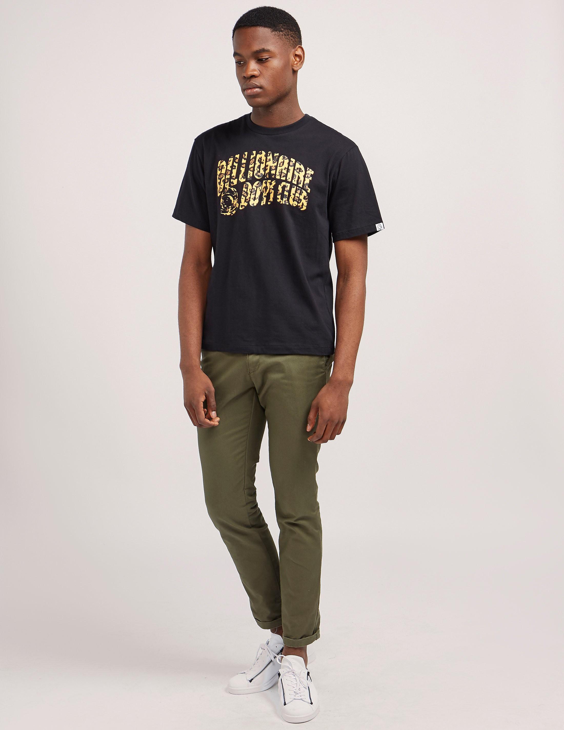 Billionaire Boys Club Leopard Arch Short Sleeve T-Shirt