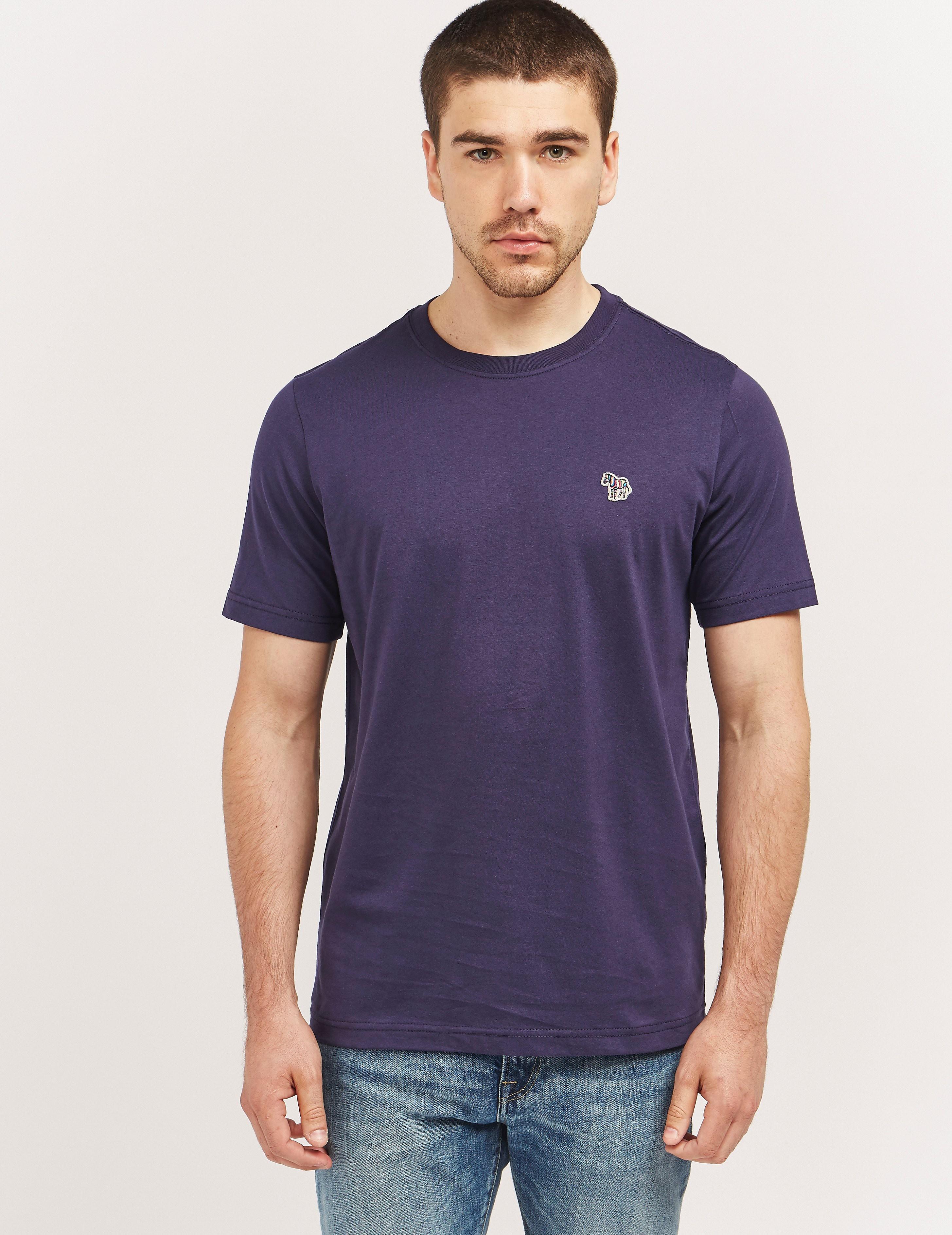 PS Paul Smith Zebra Logo Short Sleeve T-Shirt