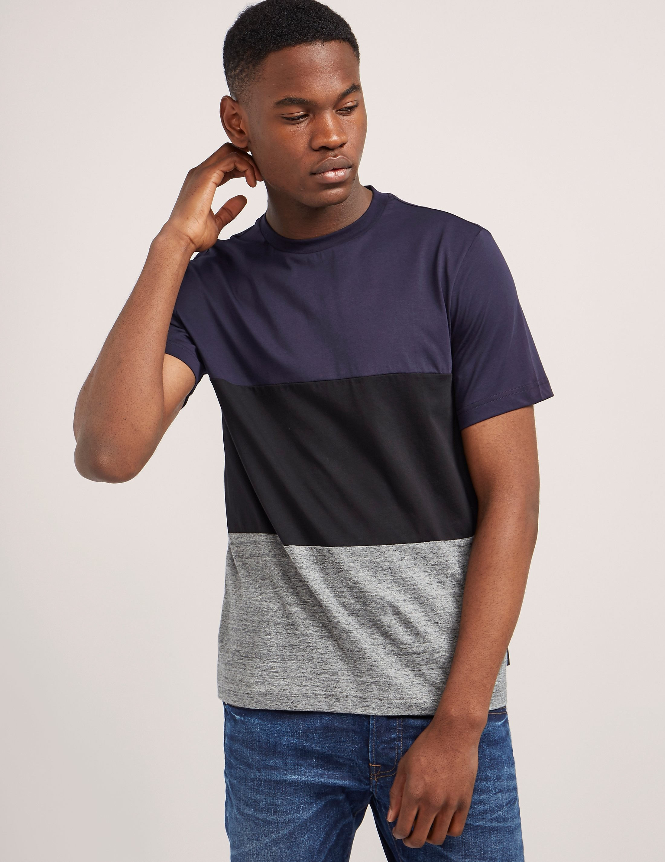 Paul Smith Colour Block Short Sleeve T-Shirt