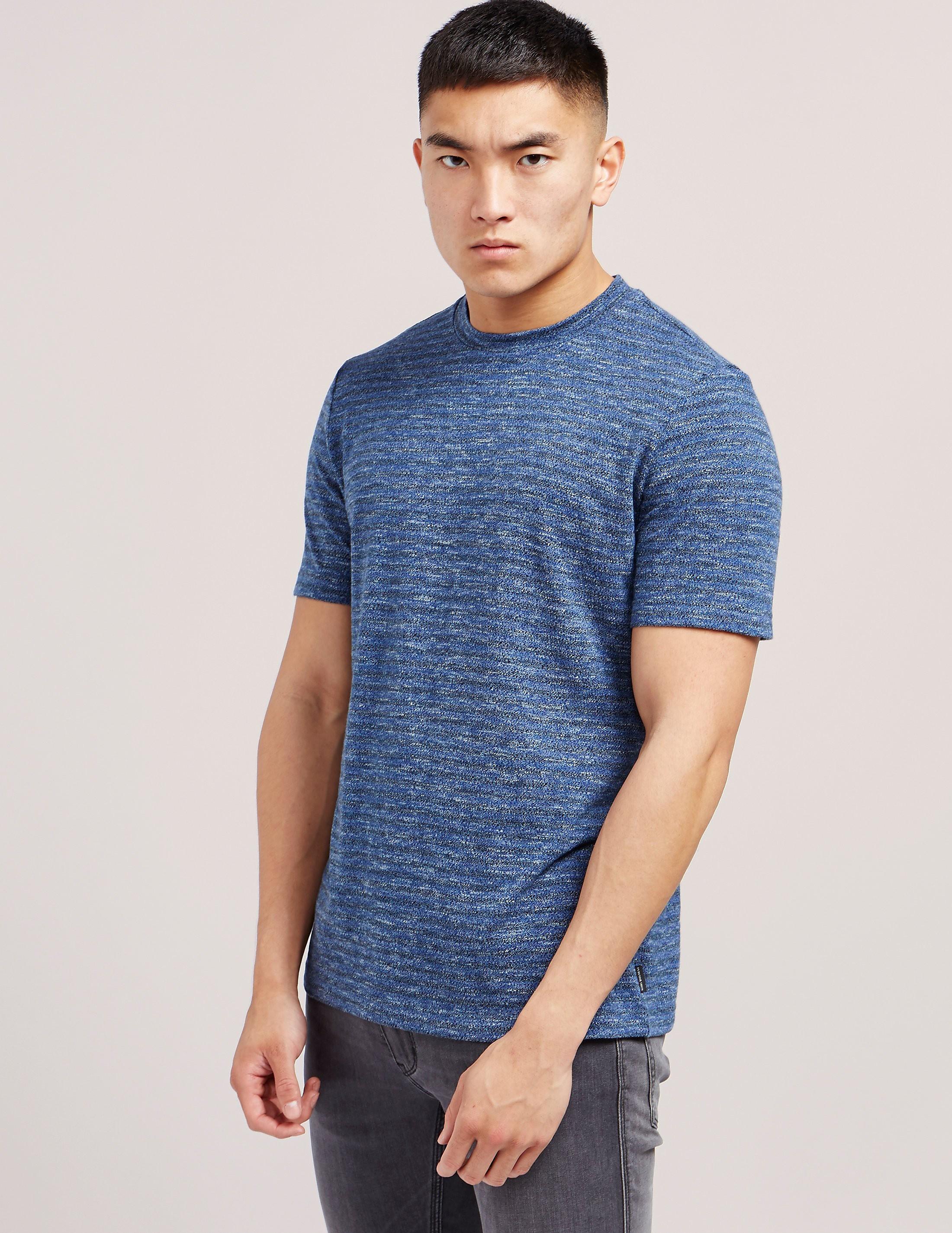 PS Paul Smith Textured Stripe Short Sleeve T-Shirt