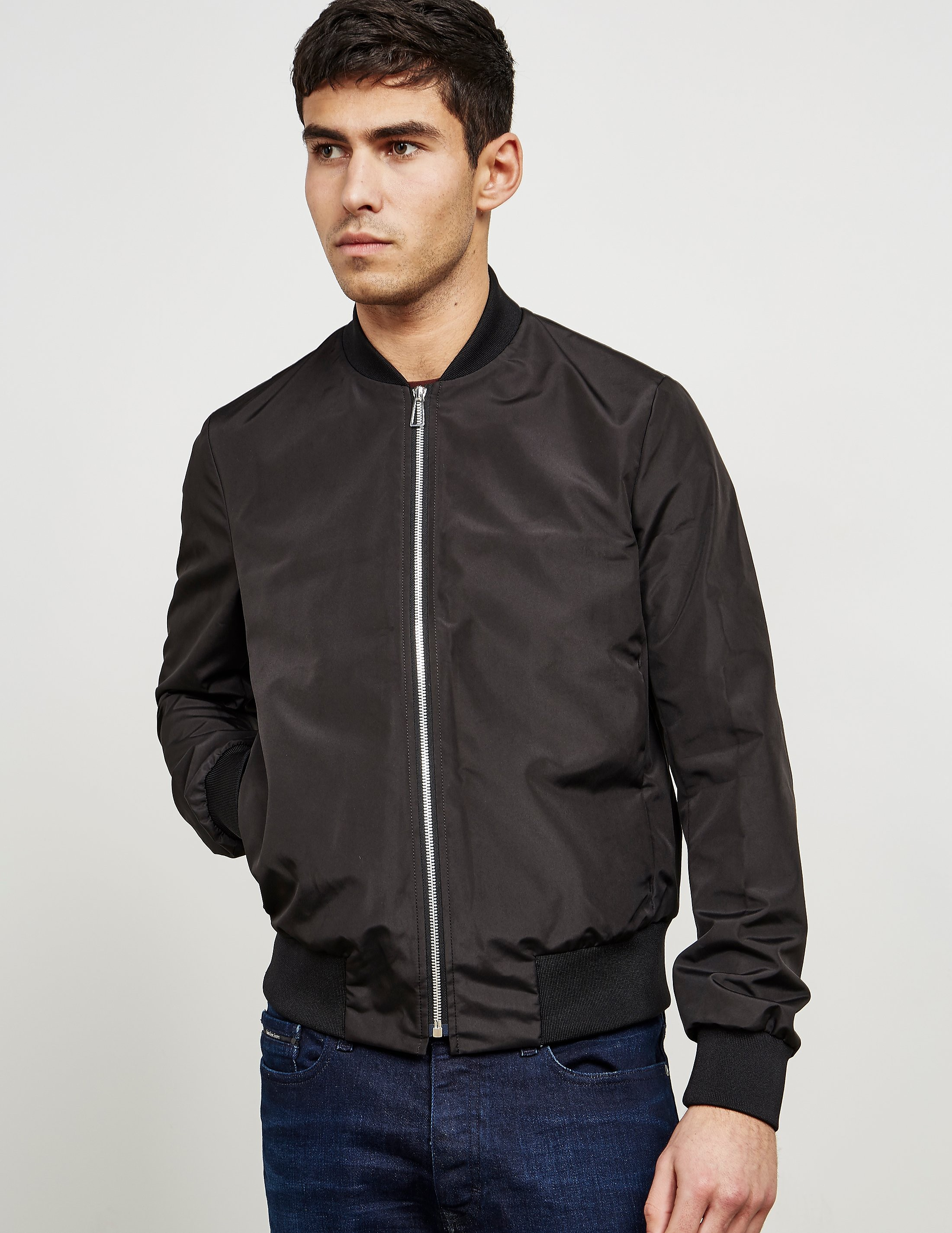 Paul Smith Water-Resistant Lightweight Bomber Jacket