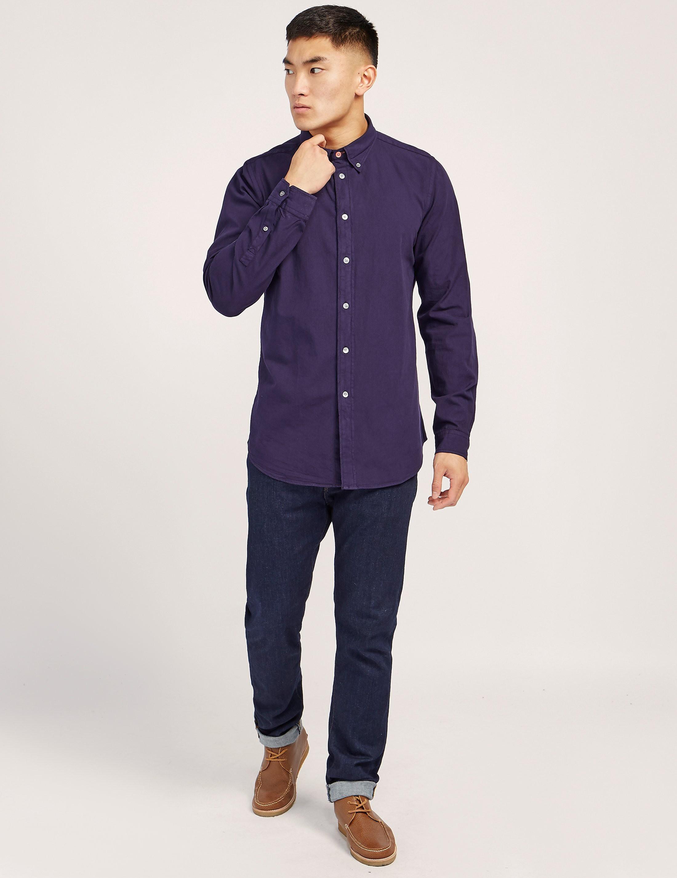 PS Paul Smith Garment Dyed Long Sleeve Shirt