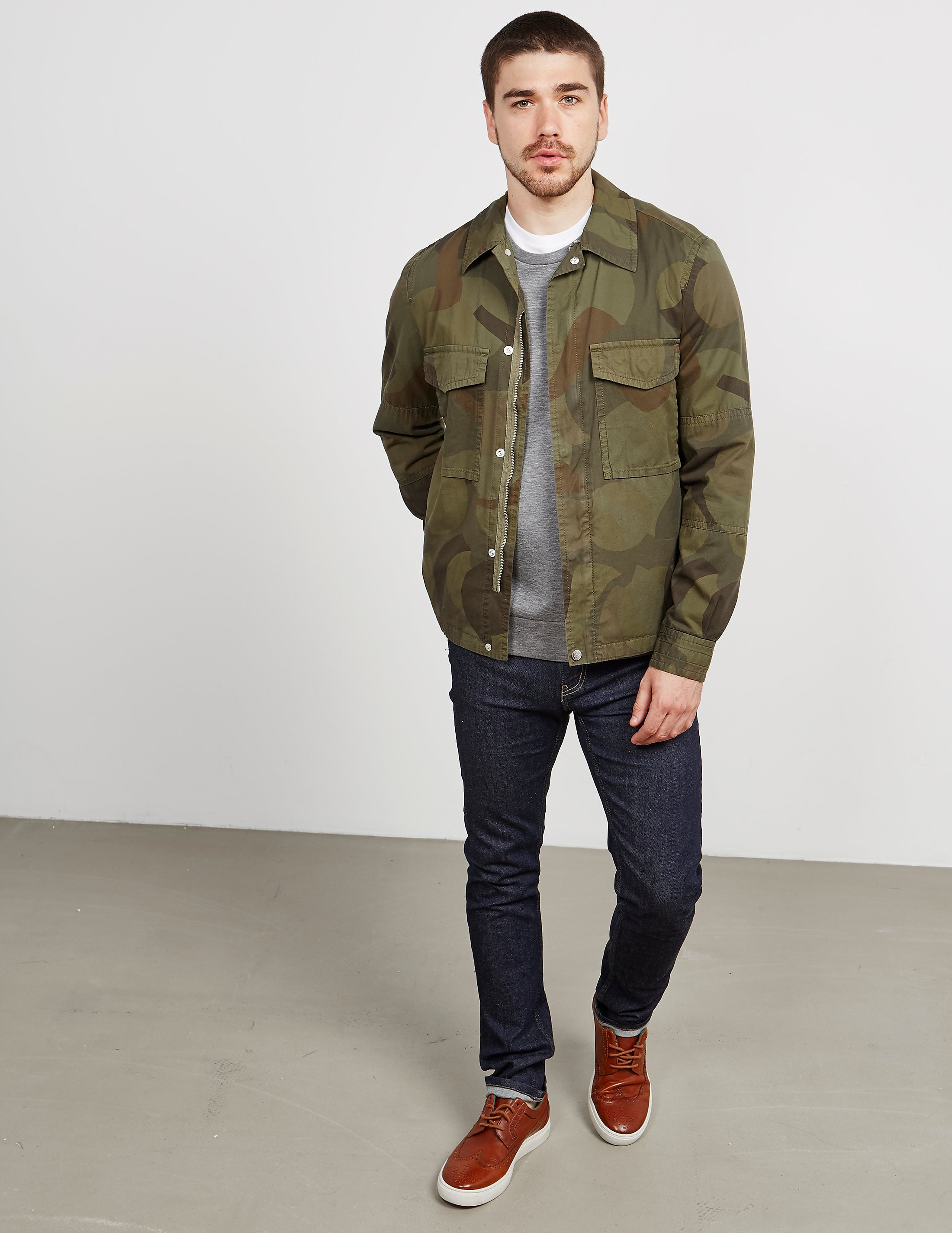 Paul Smith Camo Lightweight Jacket