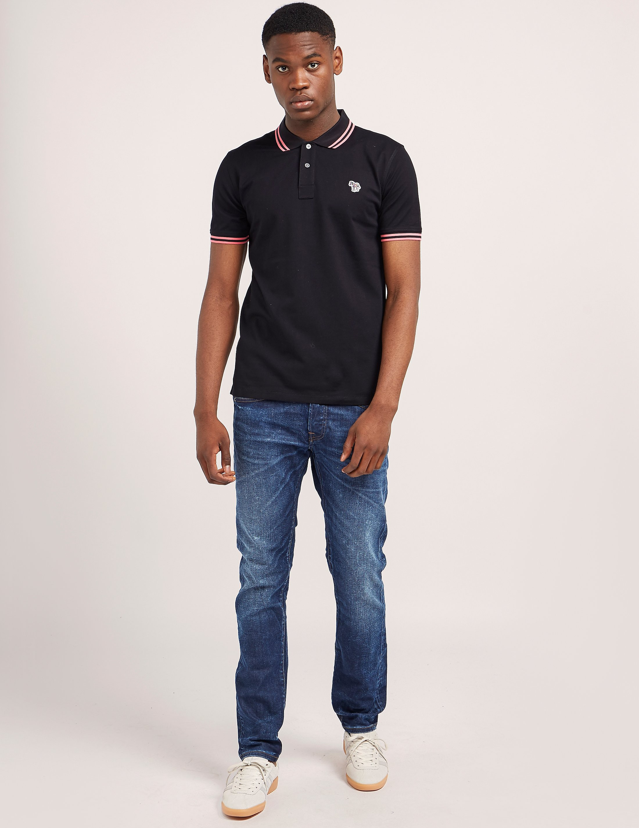 Paul Smith Tipped Short Sleeve Polo Shirt