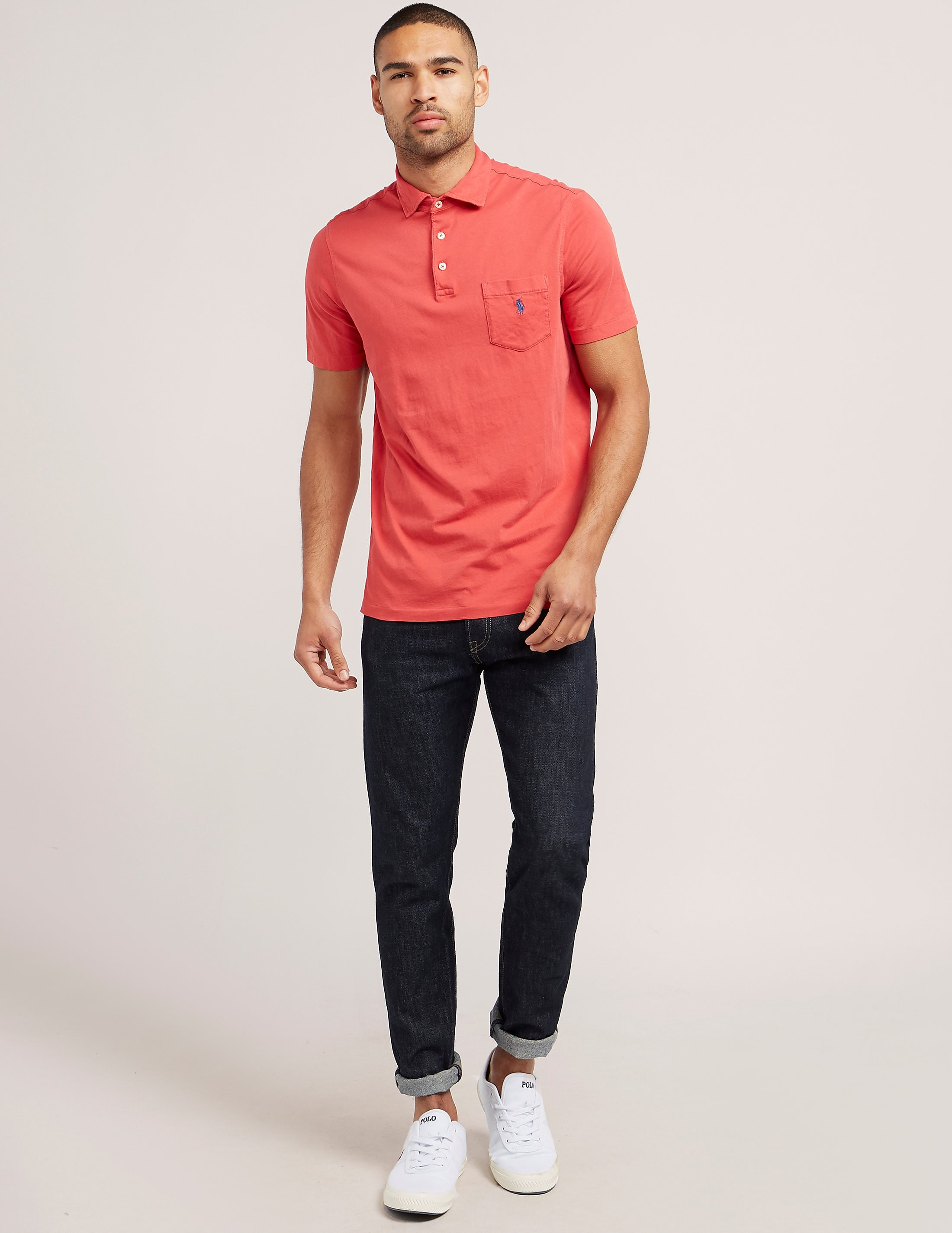 Polo Ralph Lauren Short Sleeve Pocket Polo Shirt