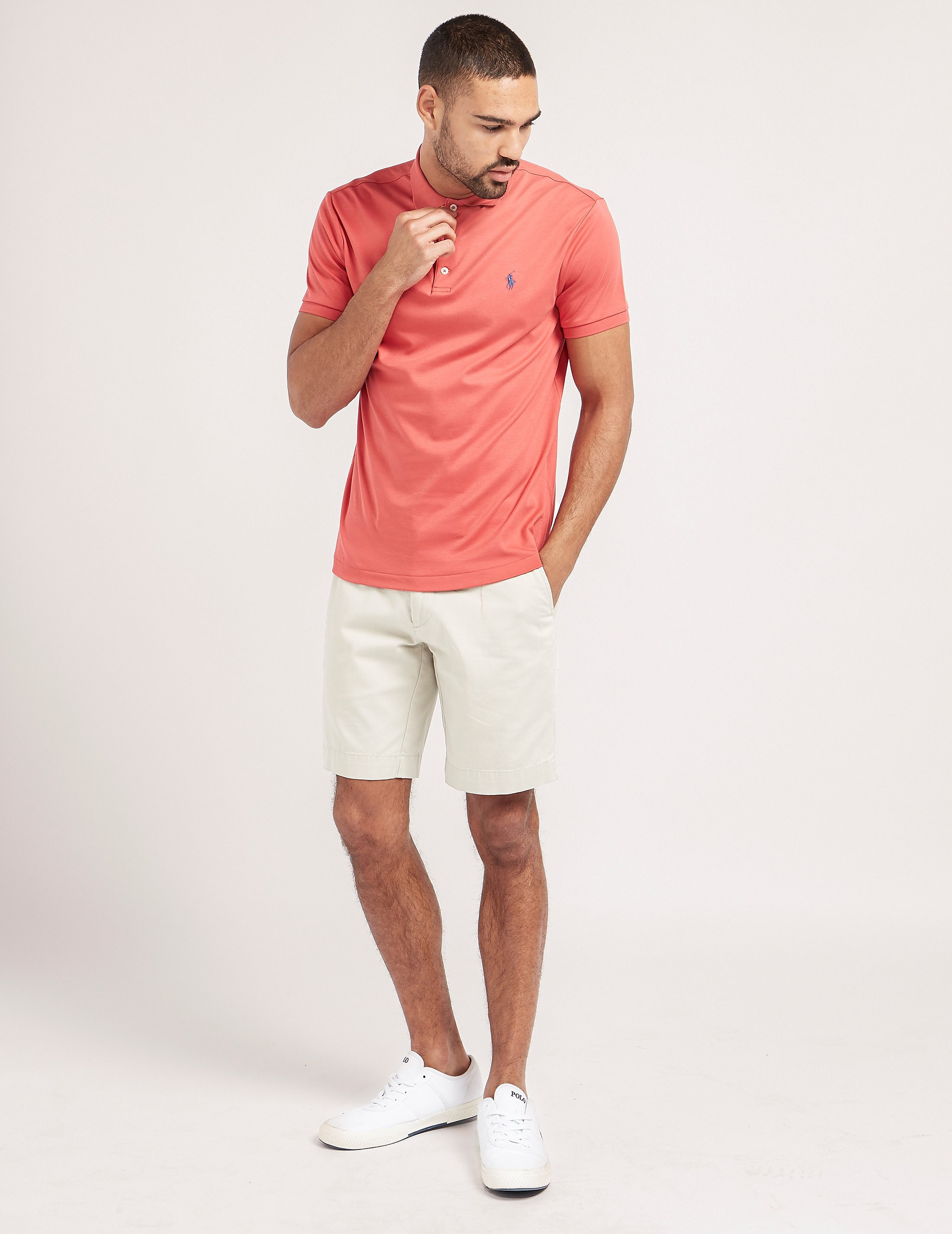Polo Ralph Lauren Slim Short Sleeve Polo Shirt